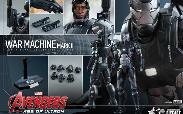 Movie Avengers: Age of Ultron The Avengers War Machine Toy Figurine HD Wallpaper | Background Image