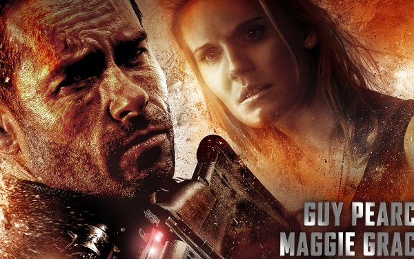 Movie Lockout Guy Pearce Maggie Grace HD Wallpaper | Background Image
