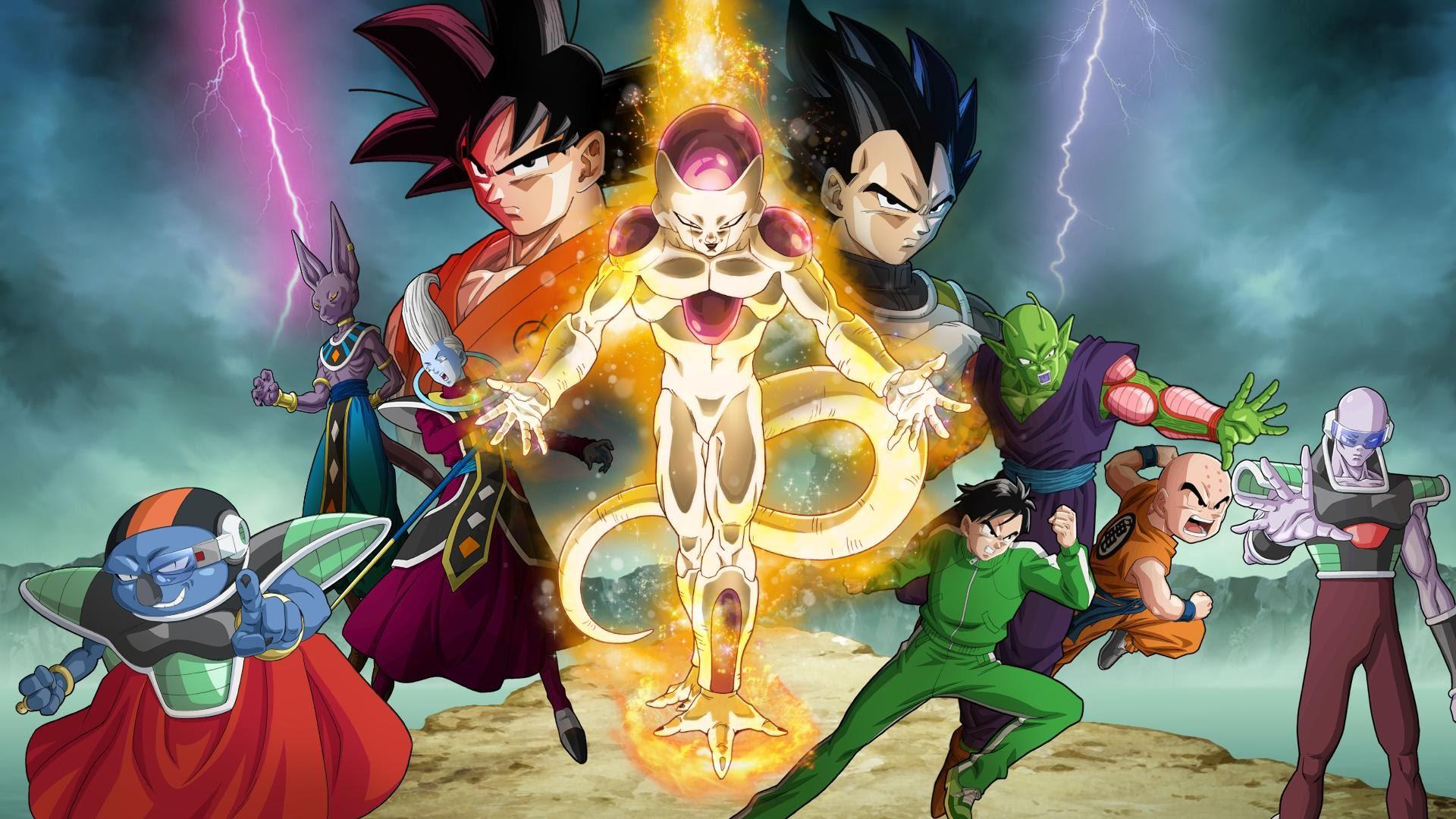 "Resultado de imagen de Dragon Ball Z: Resurrection 'F' wallpaper"""