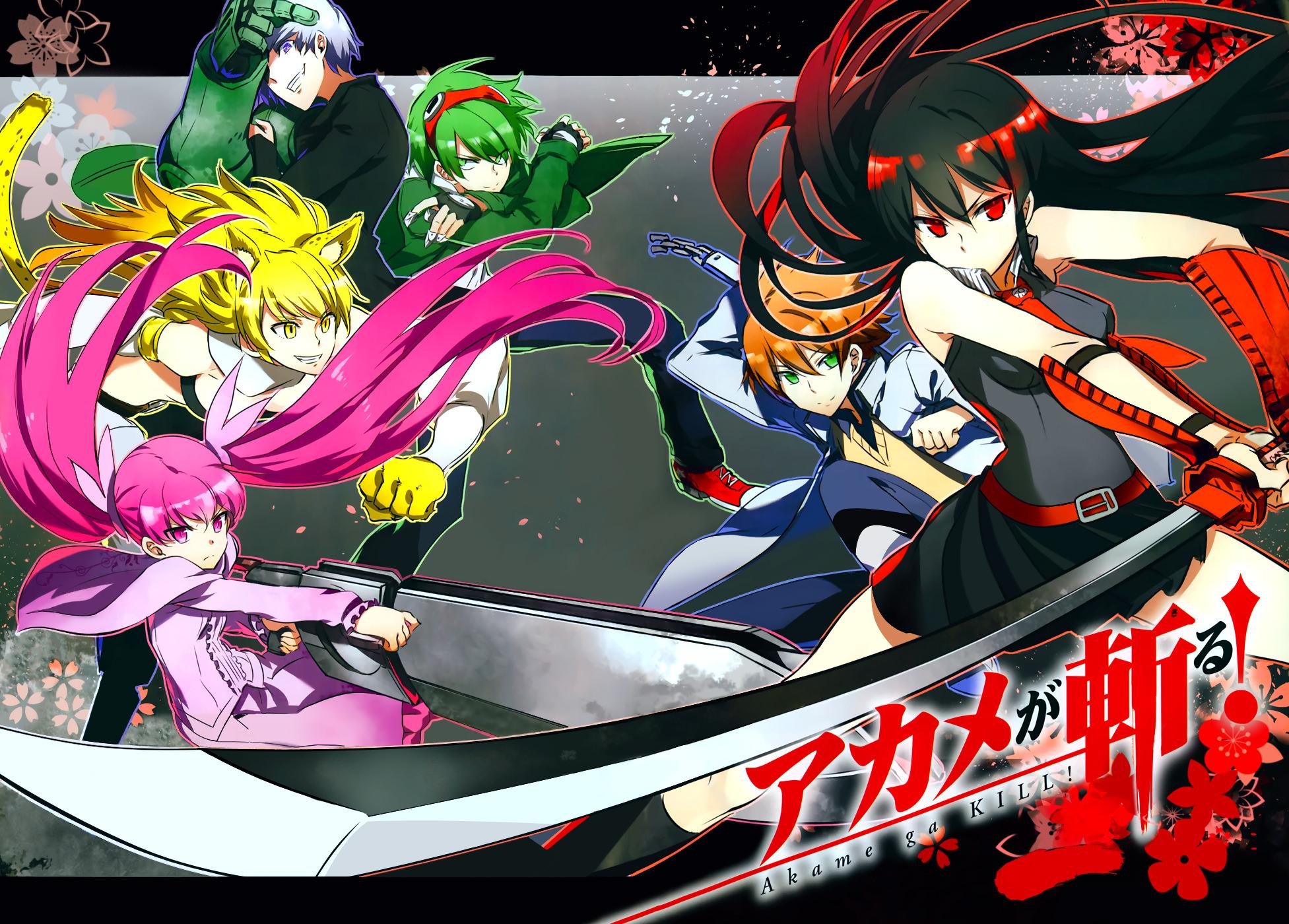 Akame ga kill :: Background (web) | Night Raid (Akame ga Kill ...