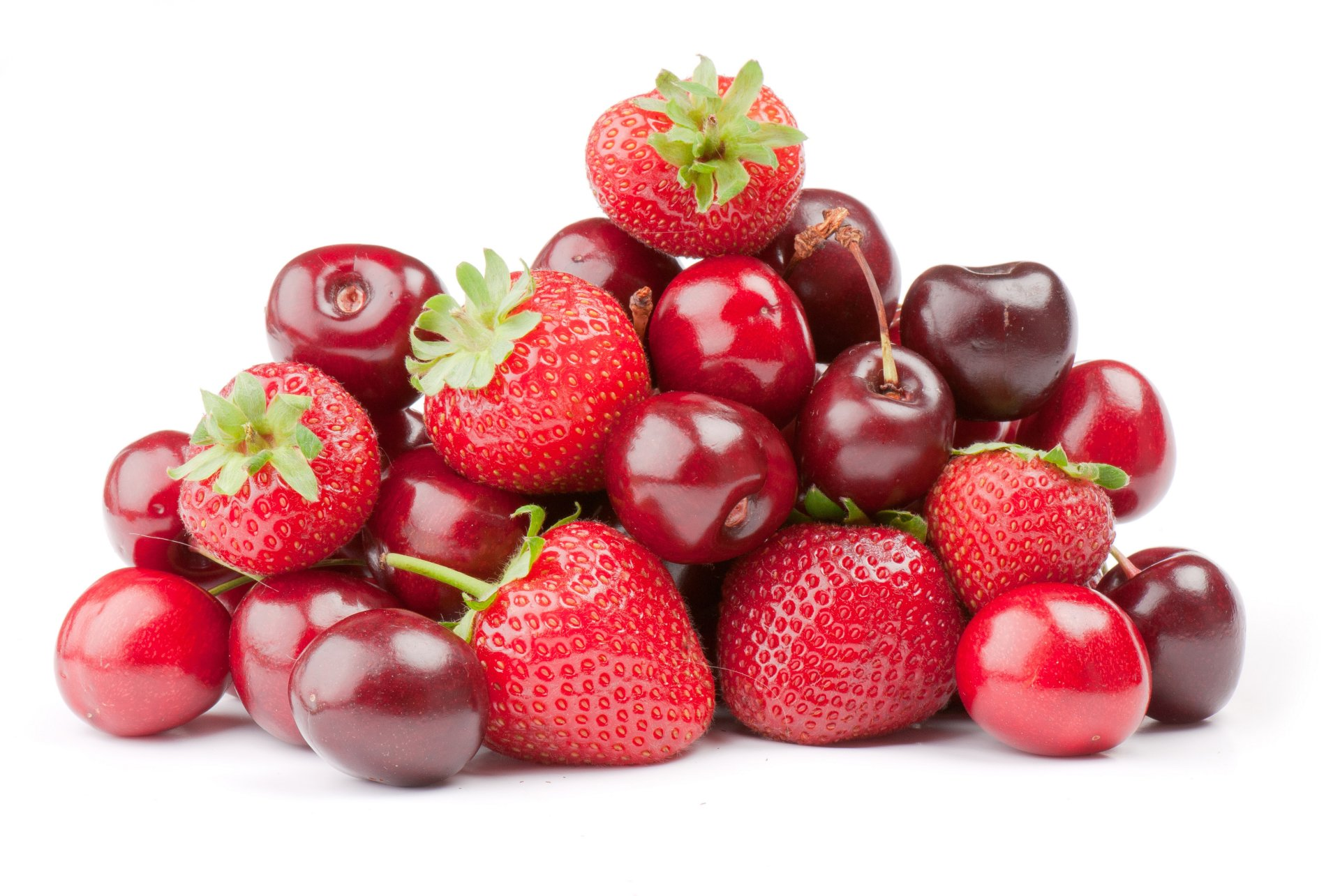 Food - Berry  Strawberry Cherry Wallpaper