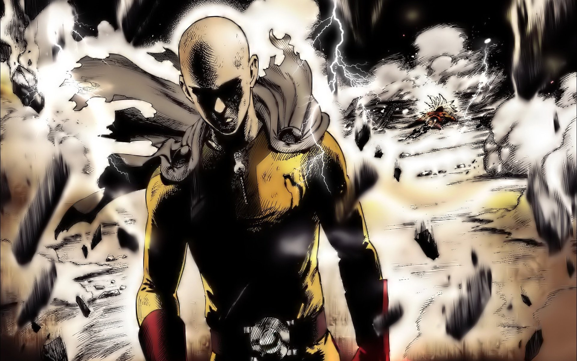 576 One Punch Man Hd Wallpapers Background Images Wallpaper Abyss
