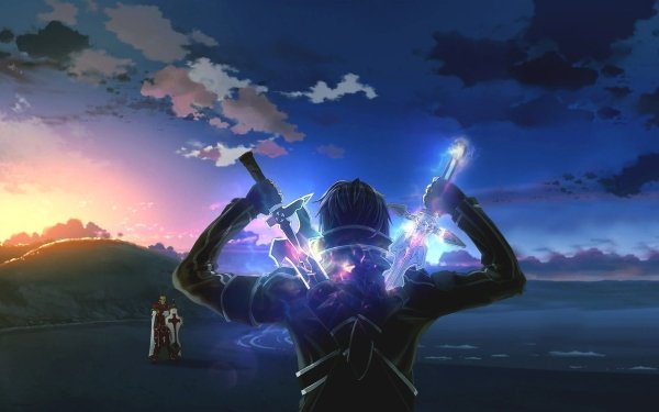 Anime Sword Art Online Kirito Heathcliff Fondo de pantalla HD | Fondo de Escritorio