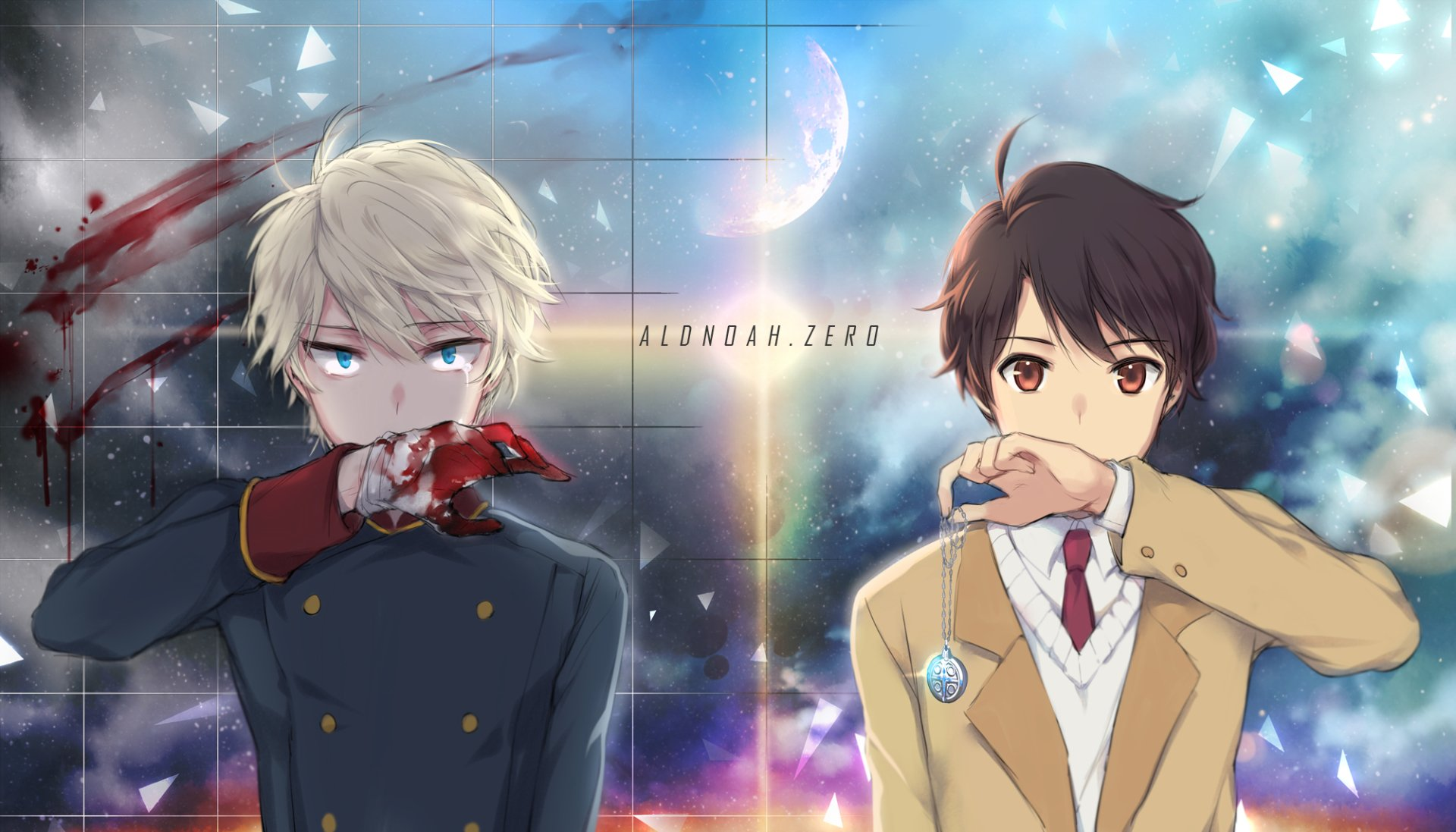 Anime - Aldnoah.Zero  Inaho Kaizuka Slaine Troyard Wallpaper