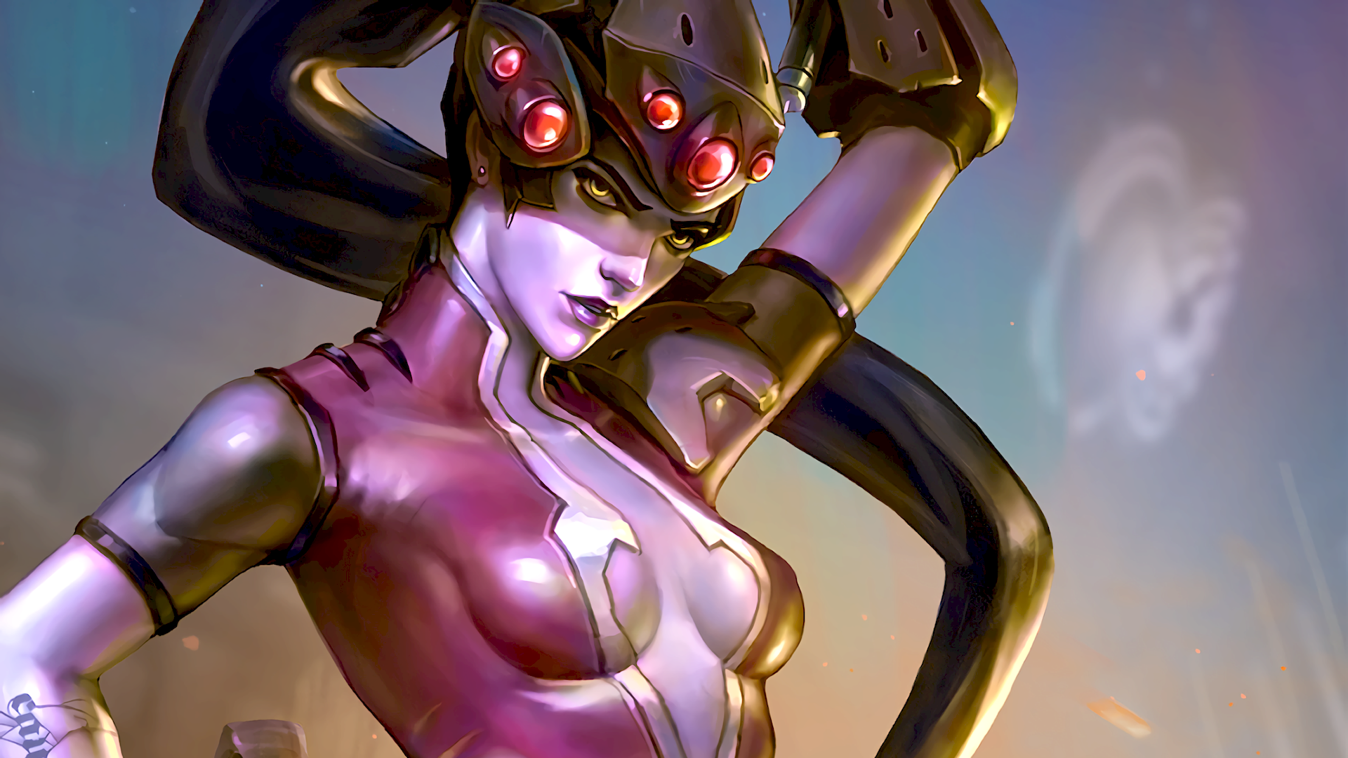 widowmaker overwatch wallpaper 1920x1080 - photo #48