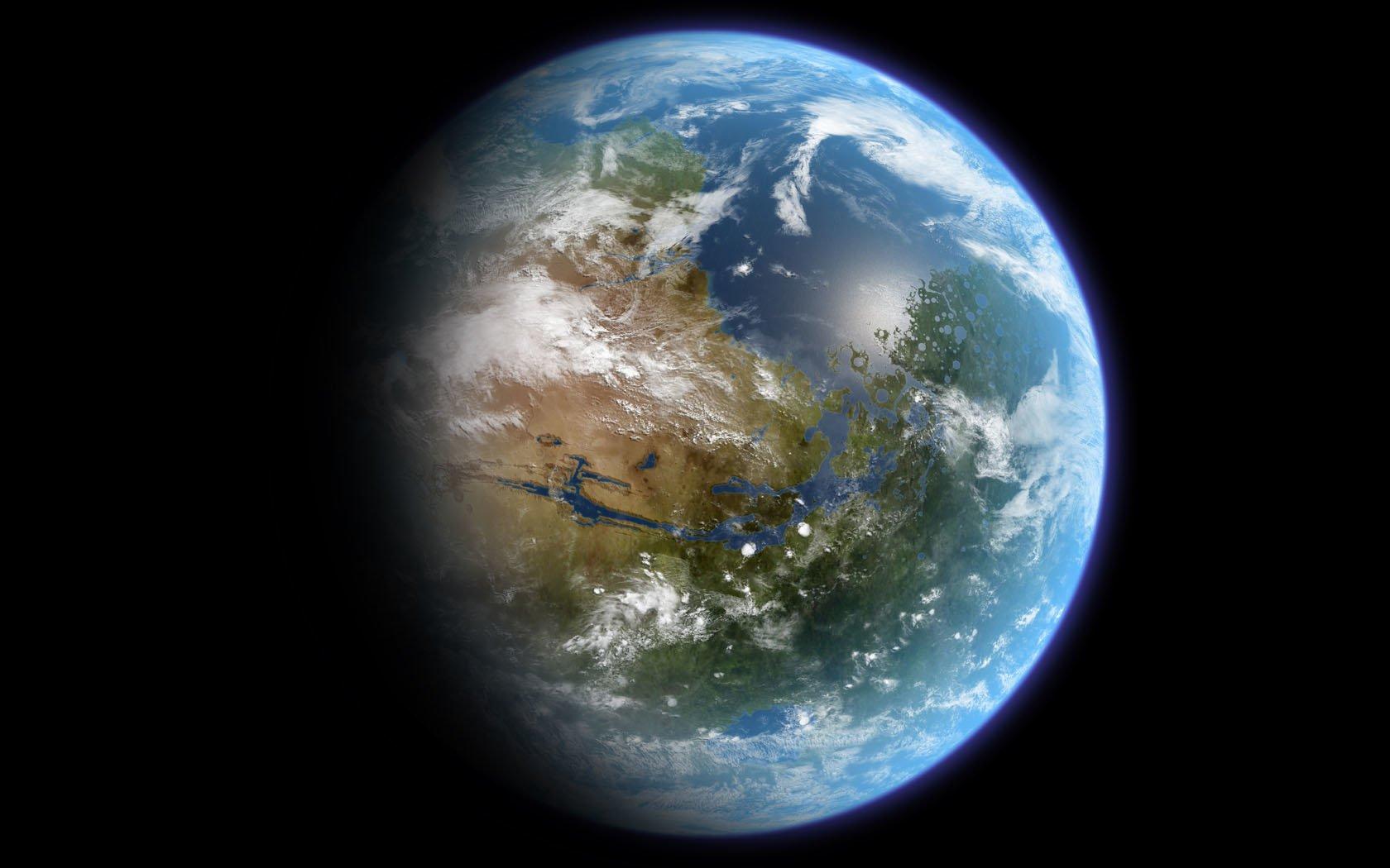 Planète Fond Décran And Arrière Plan 1680x1050 Id66221