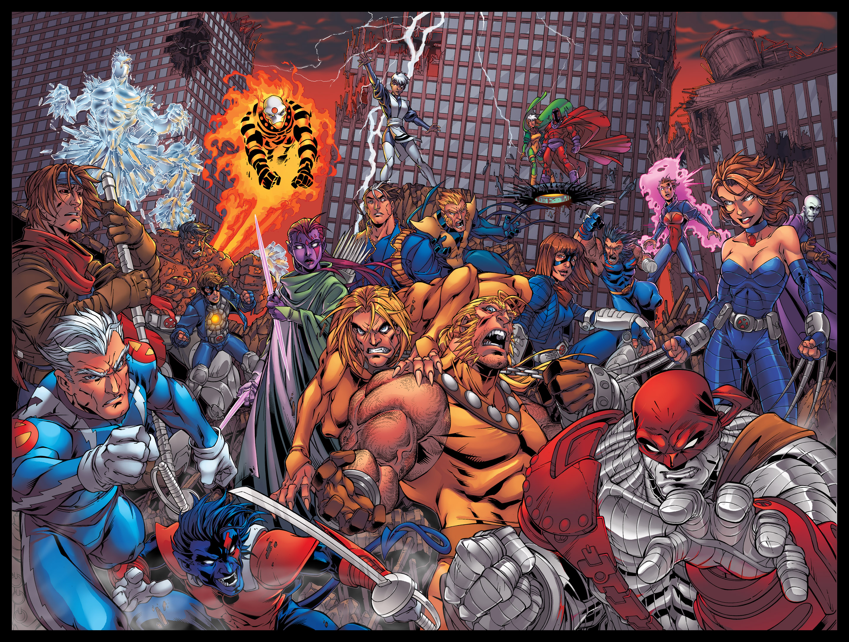 Age Of Apocalypse Full HD Papel de Parede and Background ...