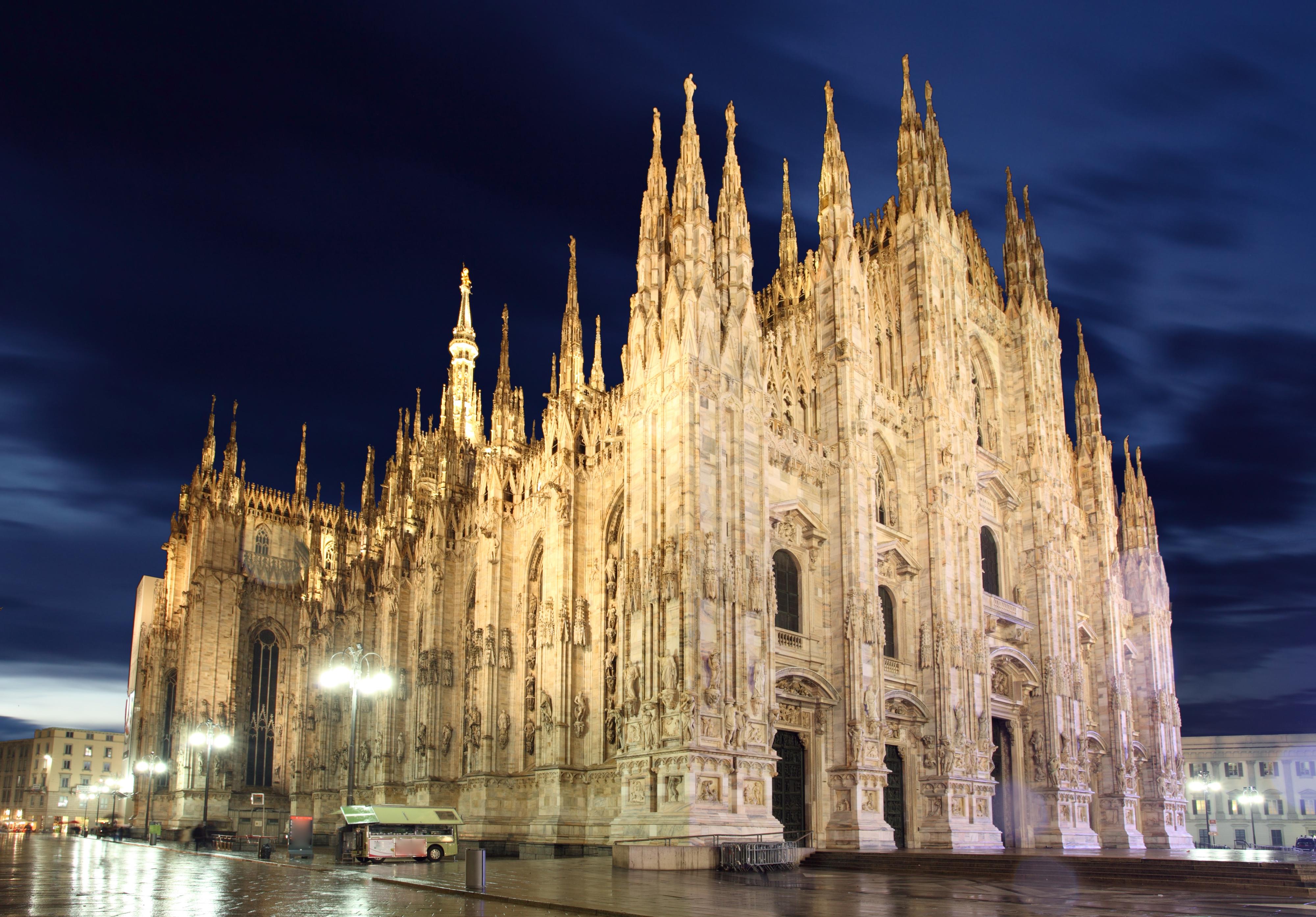 Milan Cathedral 4k Ultra HD Wallpaper ...