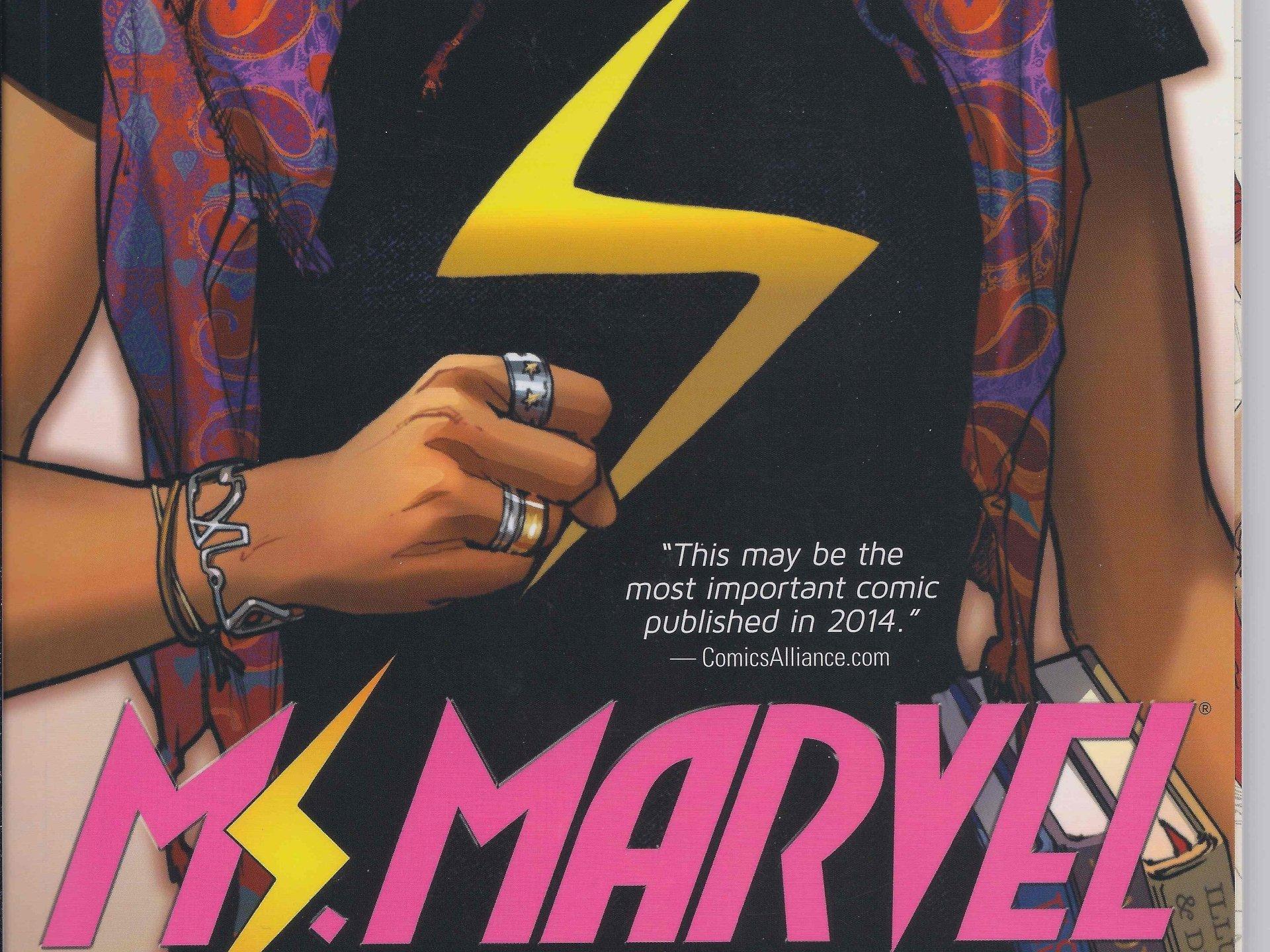 Comics - Ms Marvel  Wallpaper