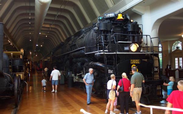 Vehicles Train Locomotive Museum HD Wallpaper | Background Image