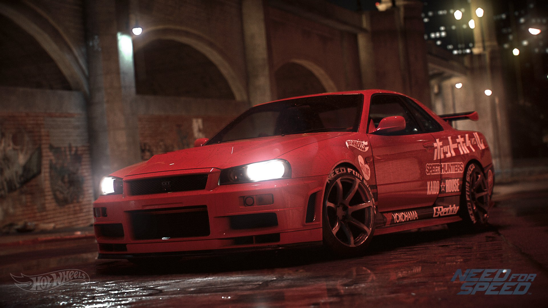 Nissan skyline gt r r34 hot wheels edition full hd for Need for speed wallpaper
