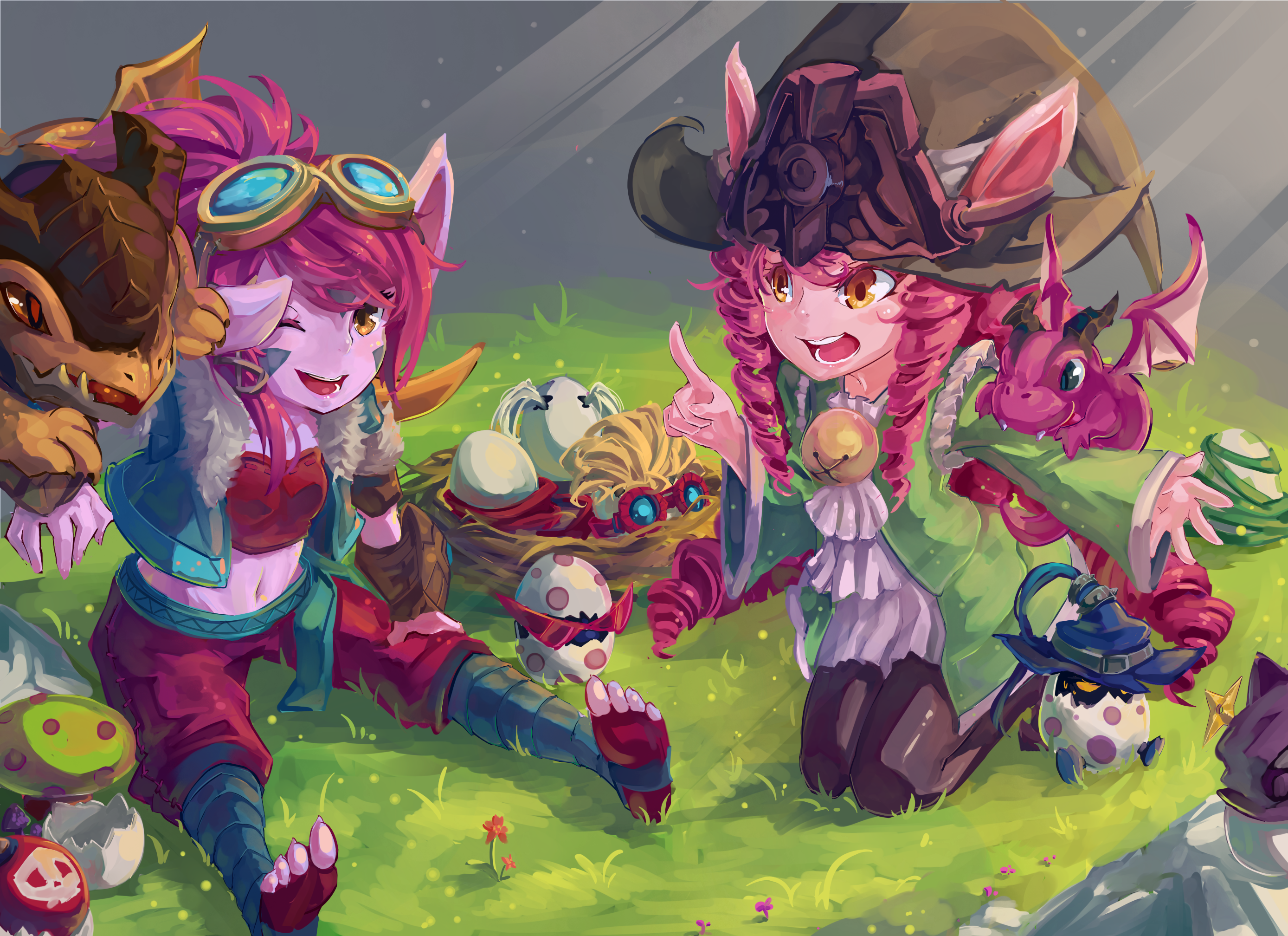 46 Tristana League Of Legends Hd Wallpapers Background Images Wallpaper Abyss