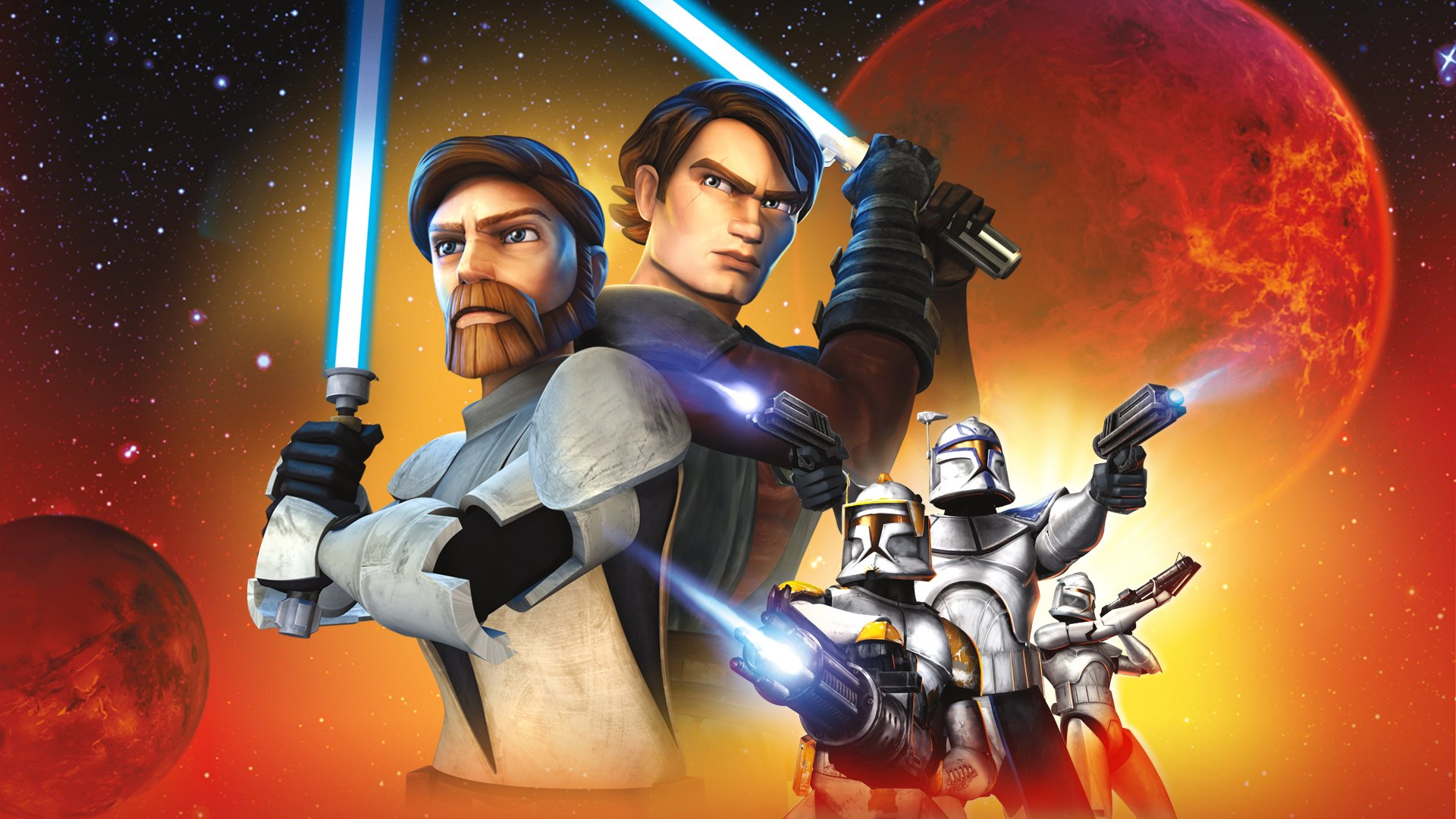 Star Wars The Clone Wars Wallpaper: 2 Star Wars: The Clone Wars