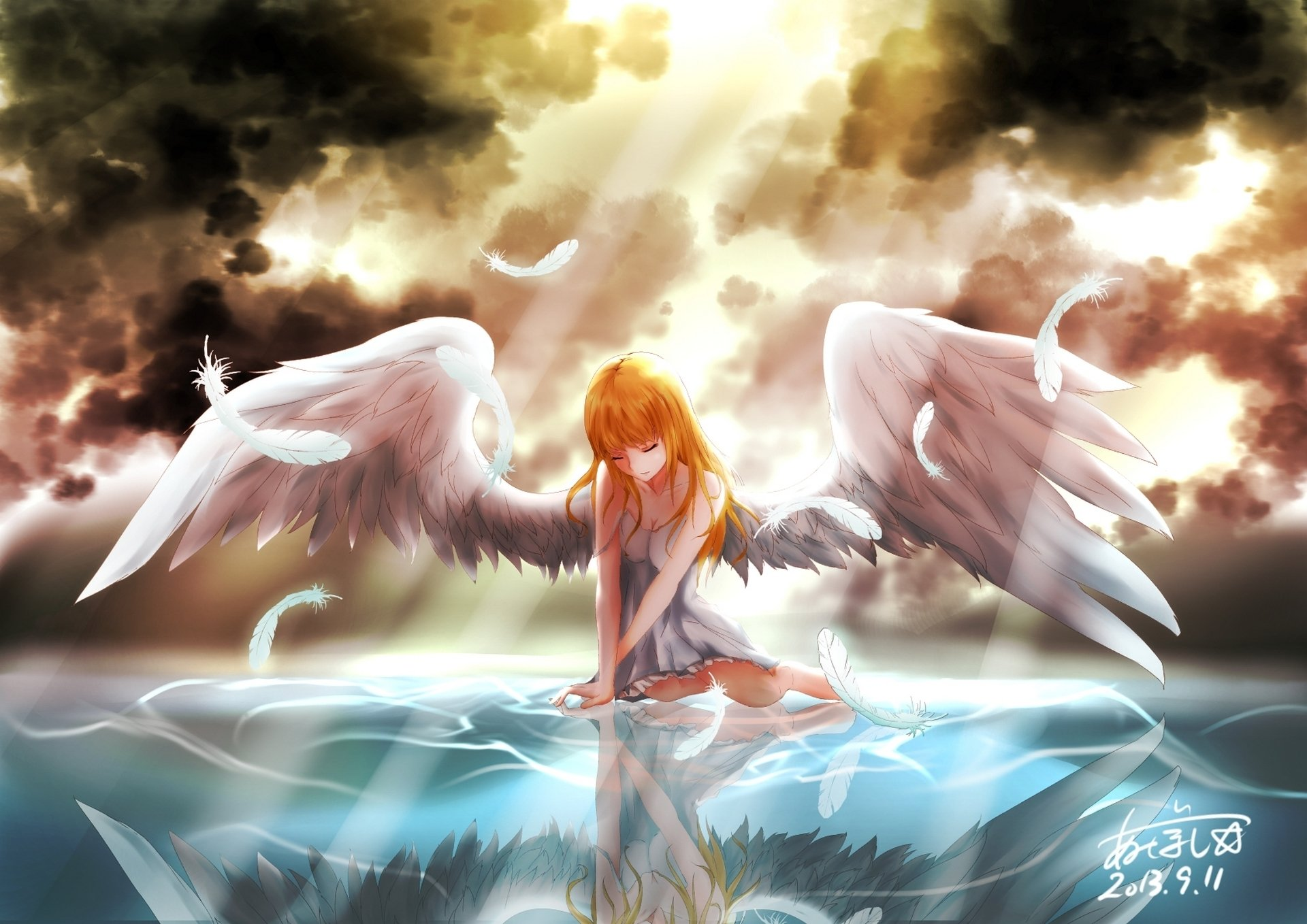 Angel Full HD Wallpaper And Background Image