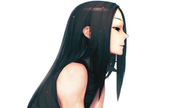 Anime Hunter x Hunter Long Hair Black Hair Illumi Zoldyck HD Wallpaper | Background Image