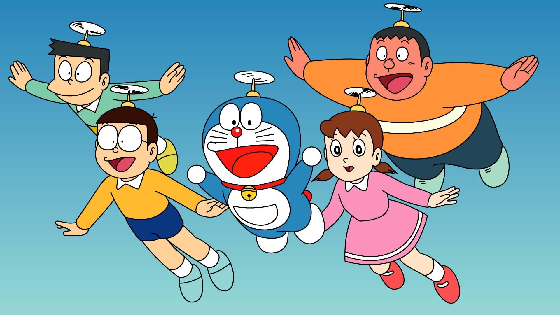 Doraemon Hd Wallpaper Background Image 1920x1080 Id671758