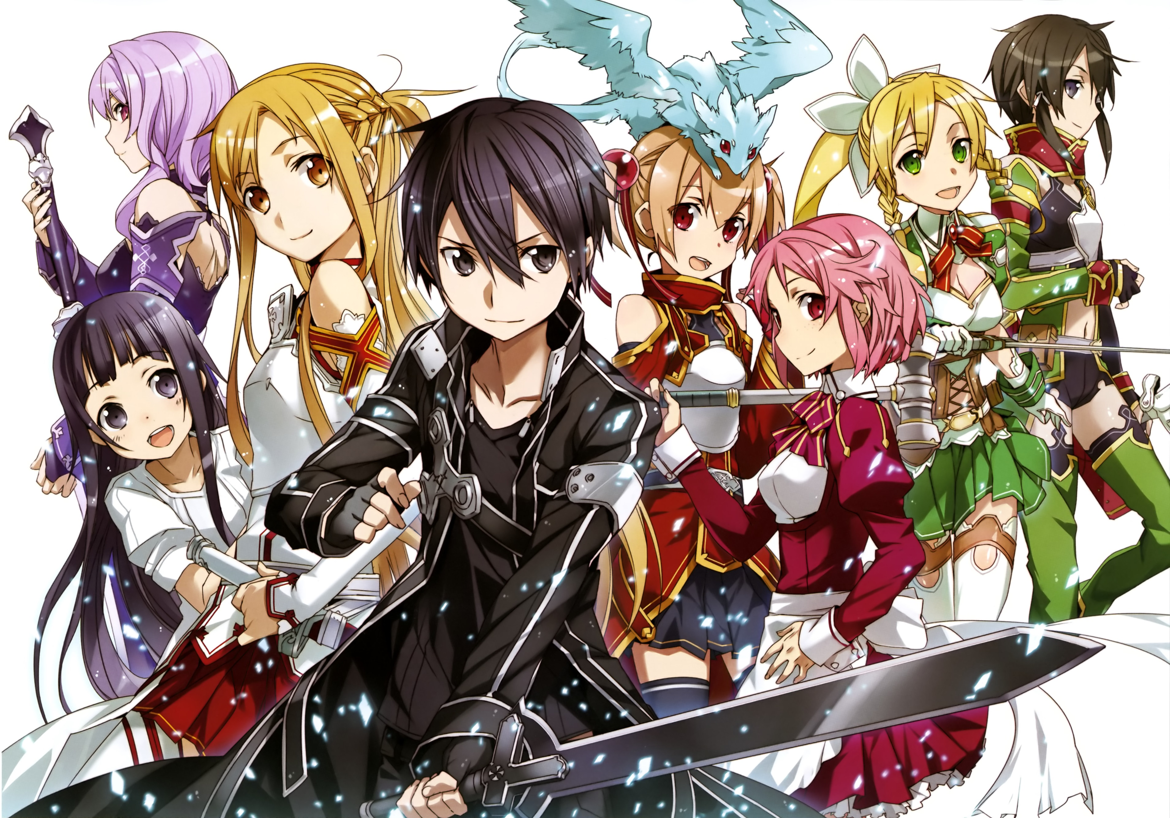 8 strea sword art online hd wallpapers background images wallpaper abyss