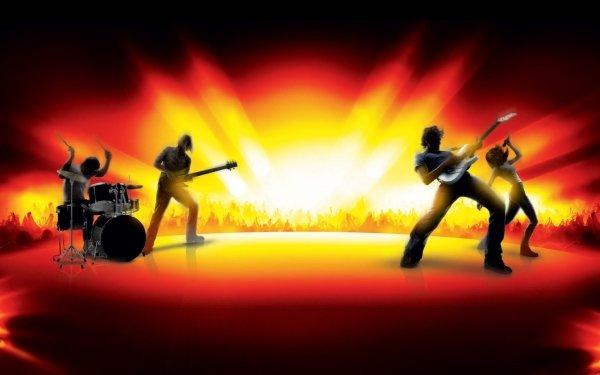 Video Game Guitar Hero: World Tour HD Wallpaper   Background Image