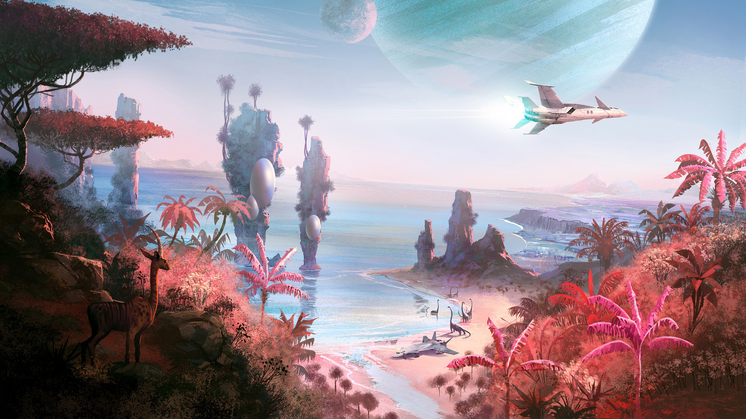 130 No Man S Sky Hd Wallpapers Background Images Wallpaper Abyss