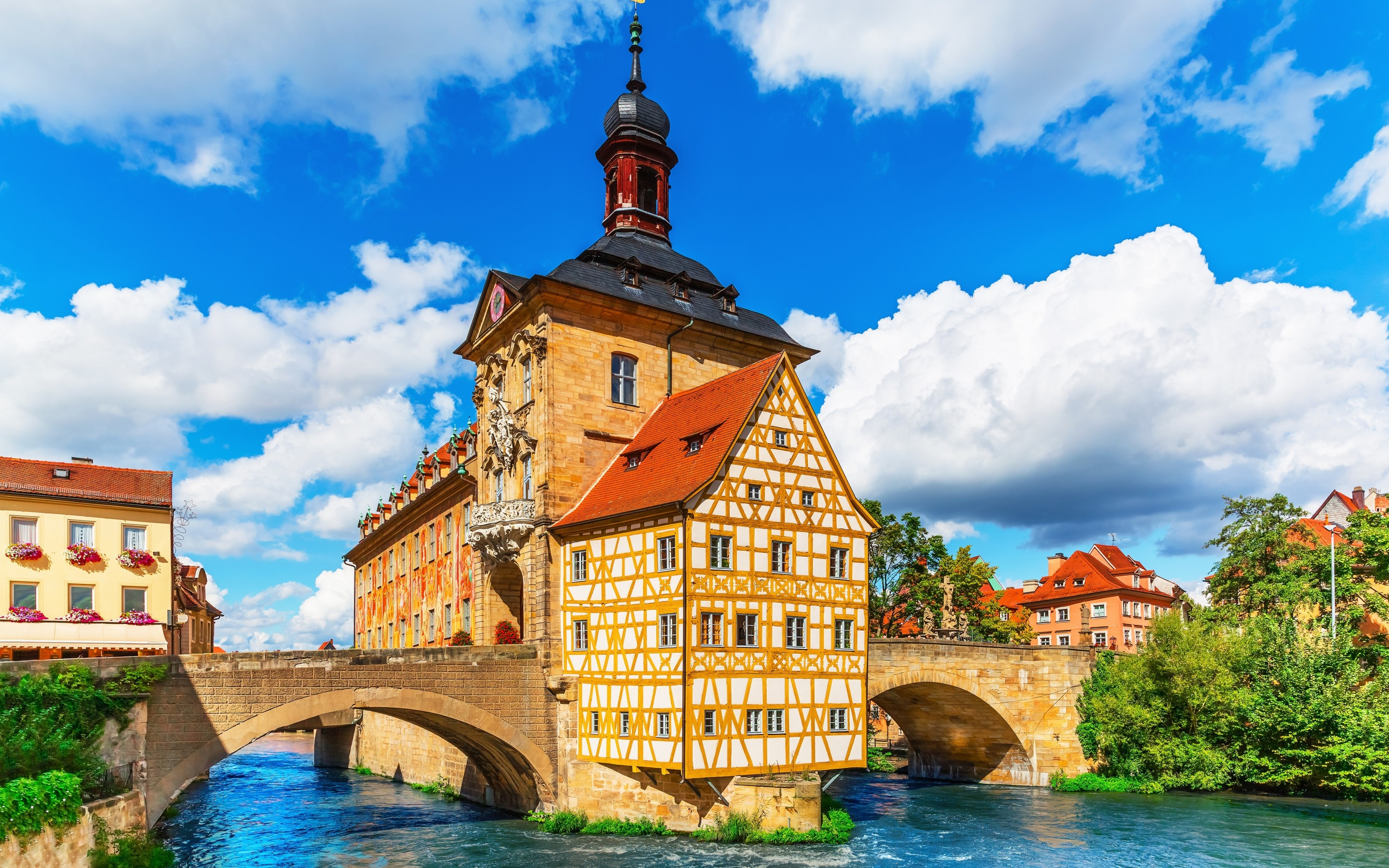 Bamberg germany full hd bakgrund and bakgrund 2880x1800 for Piscine galaxy allemagne