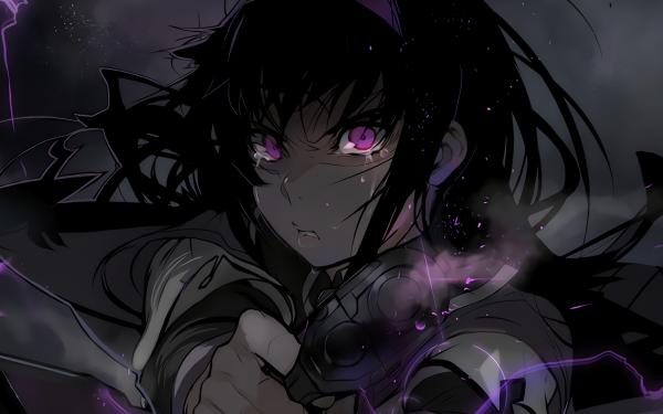 Anime Puella Magi Madoka Magica Homura Akemi Fond d'écran HD | Arrière-Plan