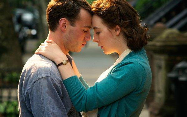Movie Brooklyn Saoirse Ronan Michael Zegen HD Wallpaper | Background Image