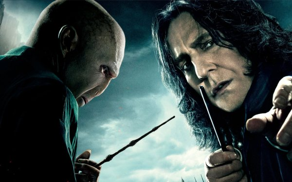 Movie Harry Potter and the Deathly Hallows: Part 1 Harry Potter Lord Voldemort Alan Rickman Severus Snape HD Wallpaper | Background Image