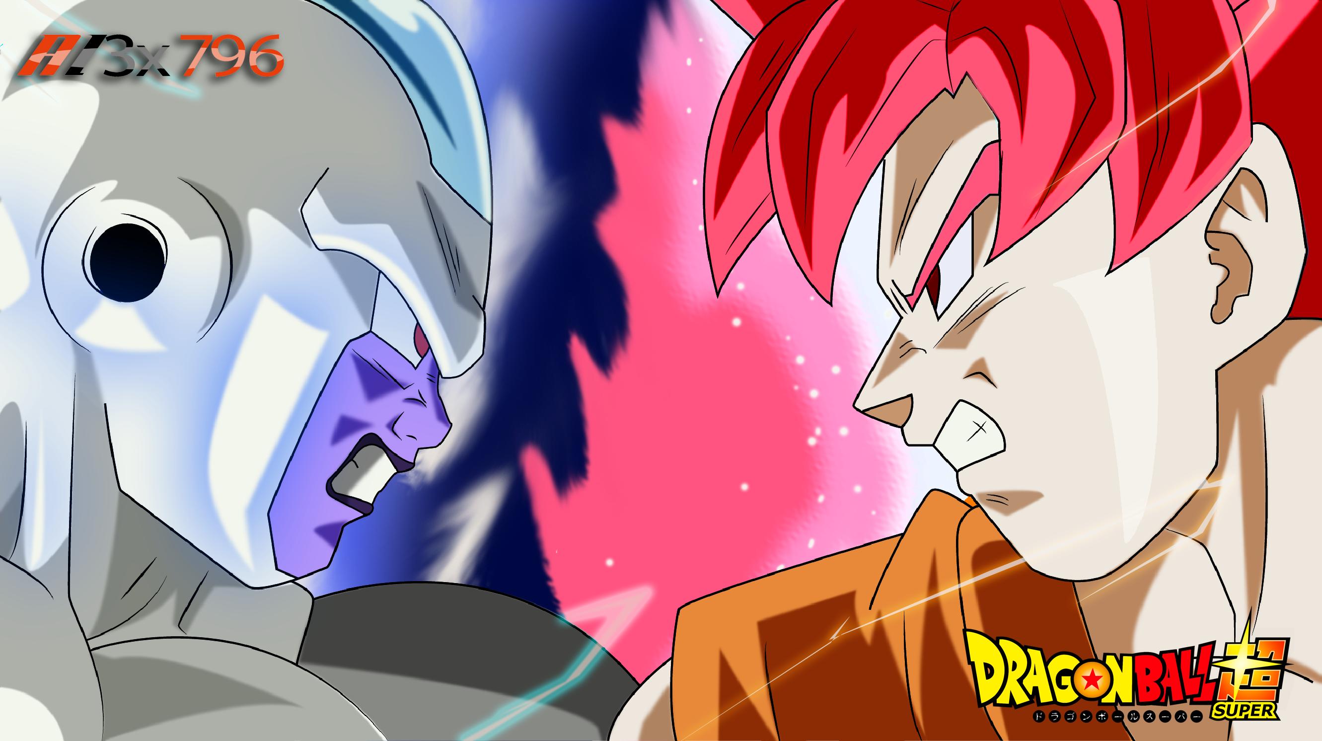 Frost Vs Goku Full Hd Fondo De Pantalla And Fondo De
