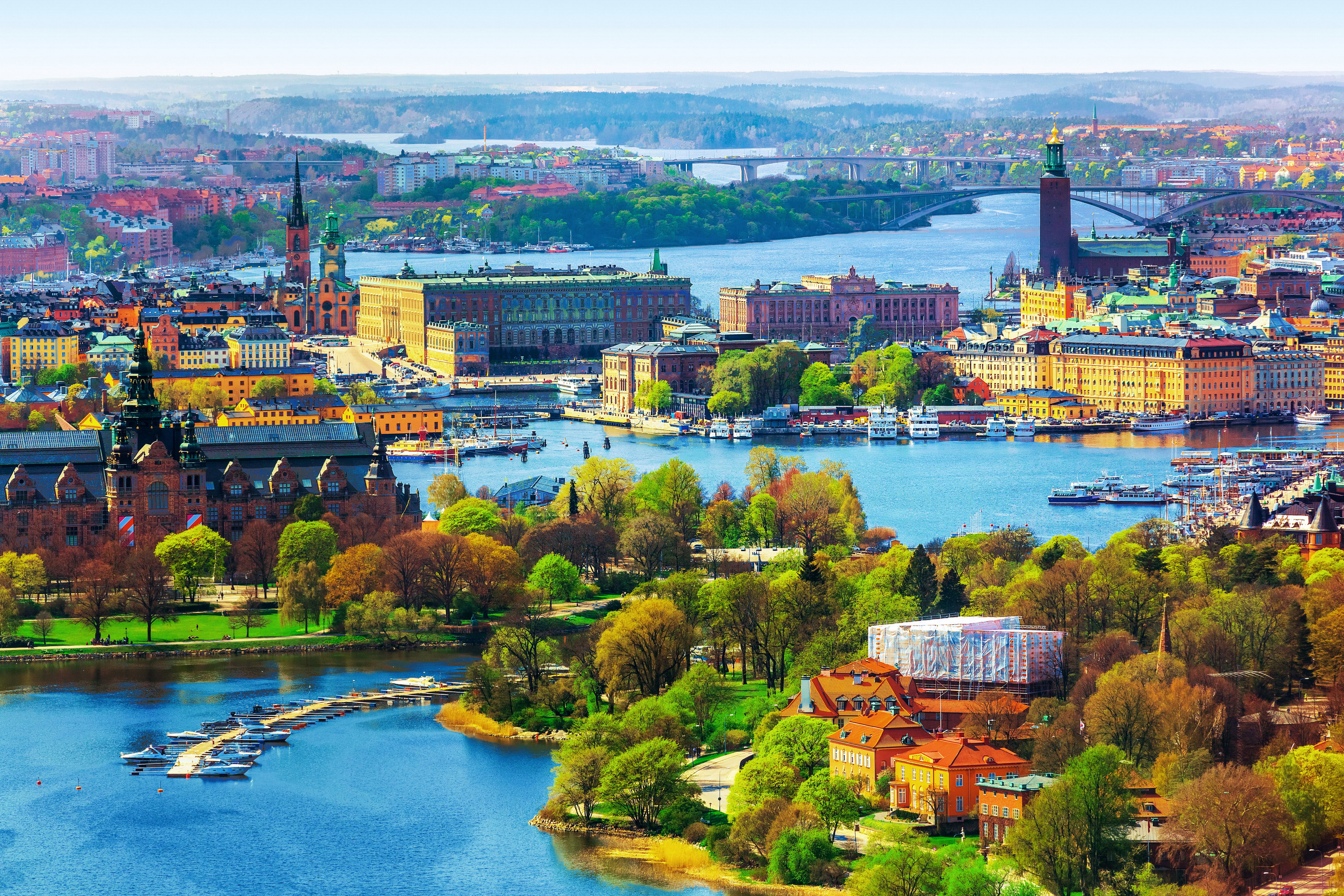 Stockholm Sweden Full HD Wallpaper And Background Image
