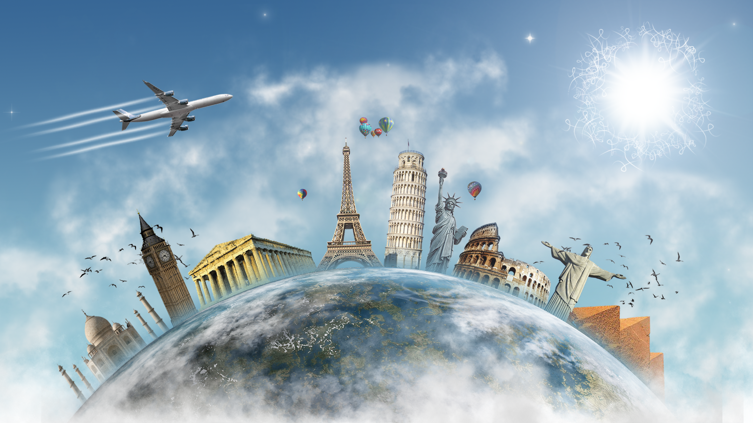 Travel the World HD Wallpaper | Background Image ...  Travel