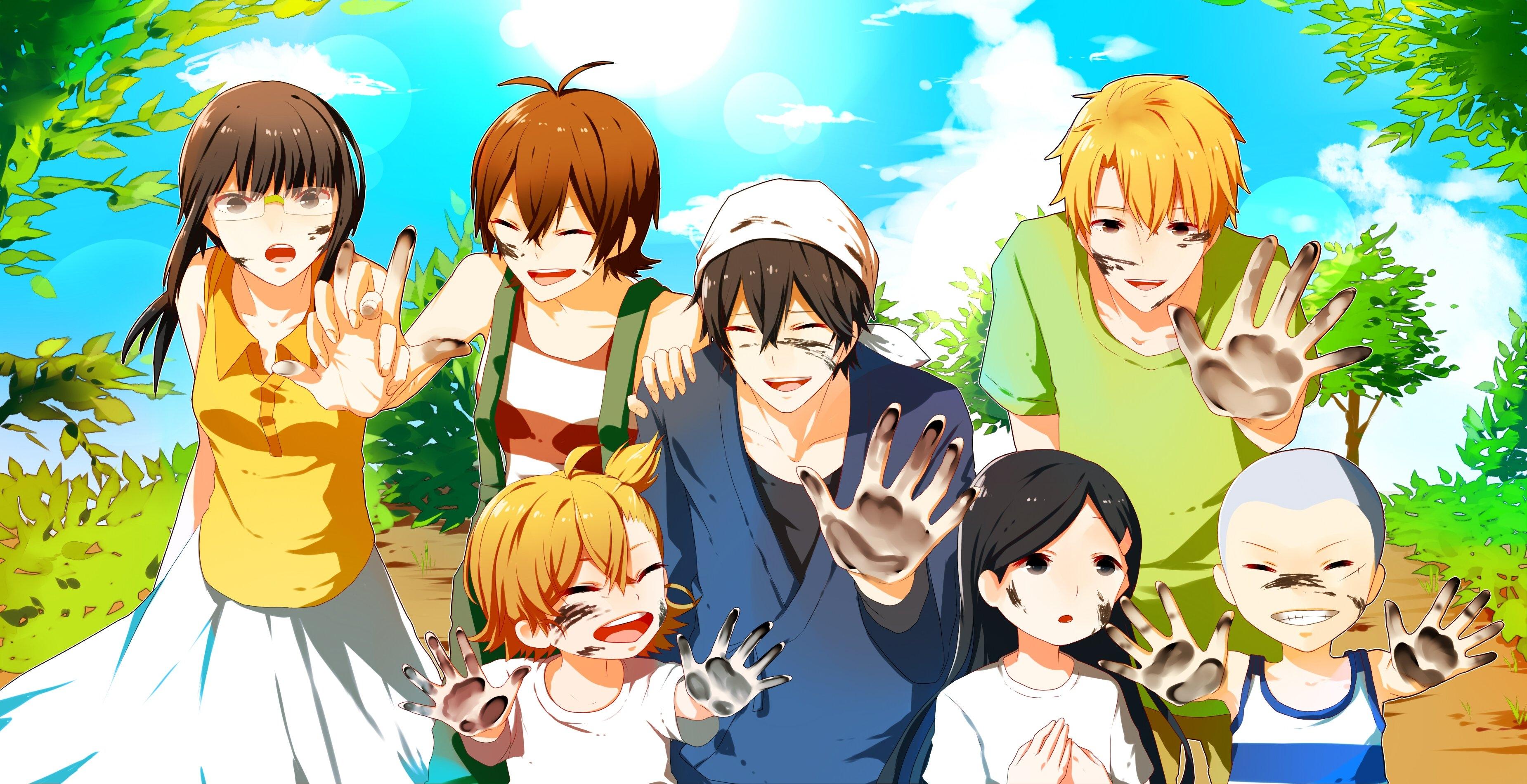 Top 6 Anime Characters : Barakamon papéis de parede hd planos fundo