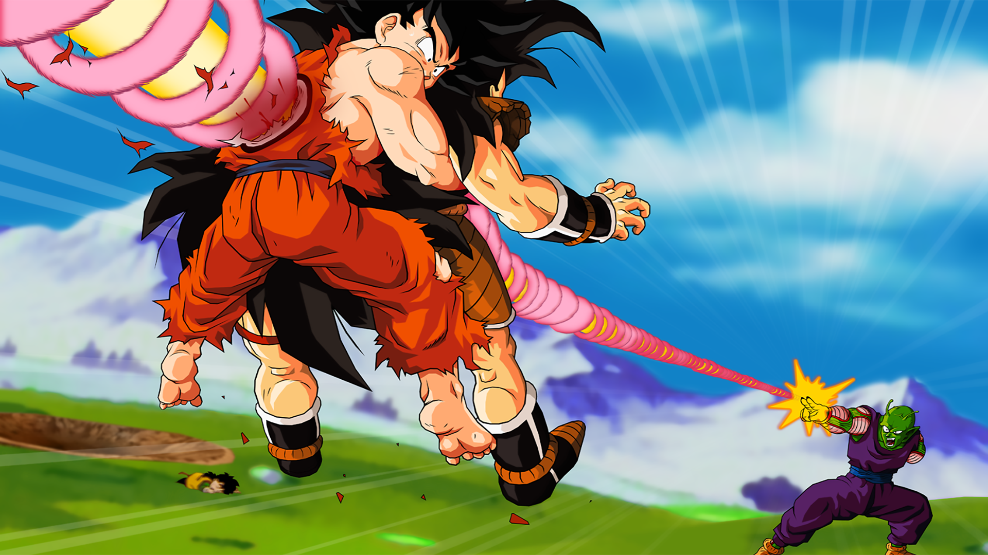 Dbz Dual Screen Wallpapers: Brothers Death Fond D'écran HD