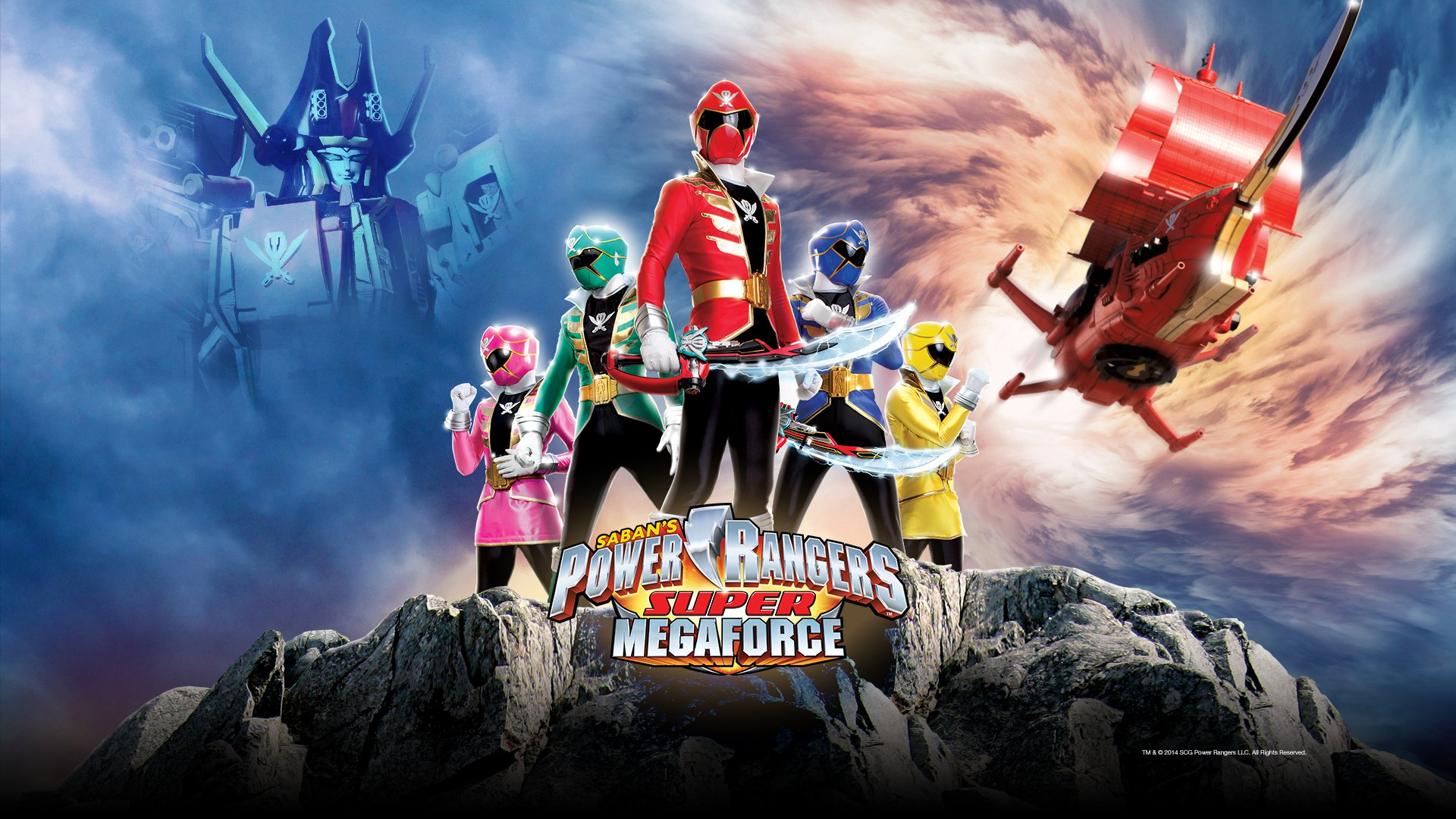 3 Power Rangers Super Megaforce HD Wallpapers ...