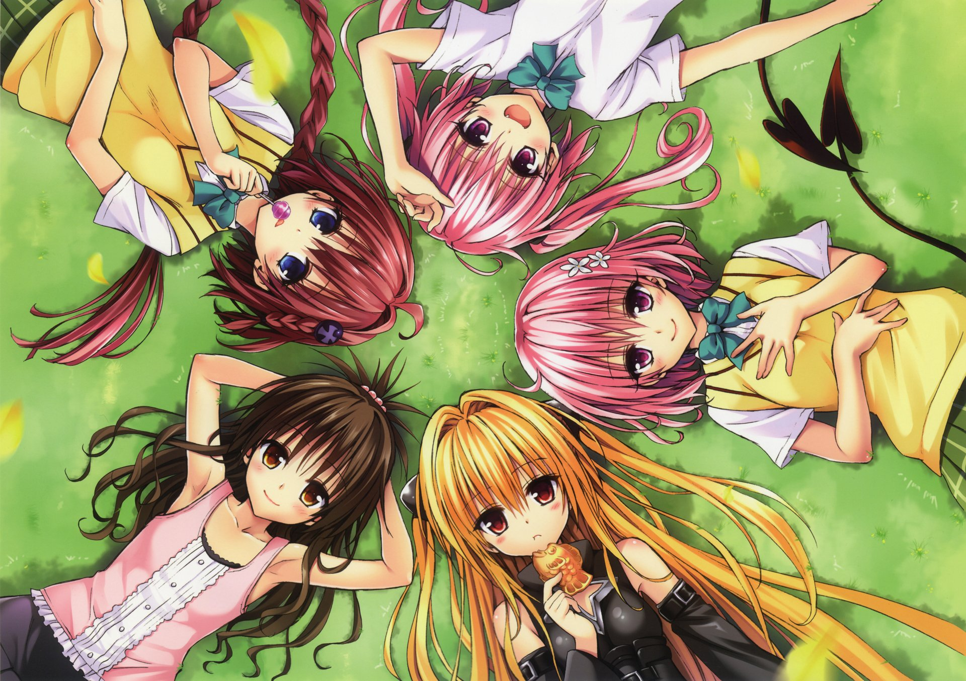 Wallpaper Hd To Love Ru Darkness : To Love-Ru Group Full HD Wallpaper and Background Image 1920x1354 ID:675098