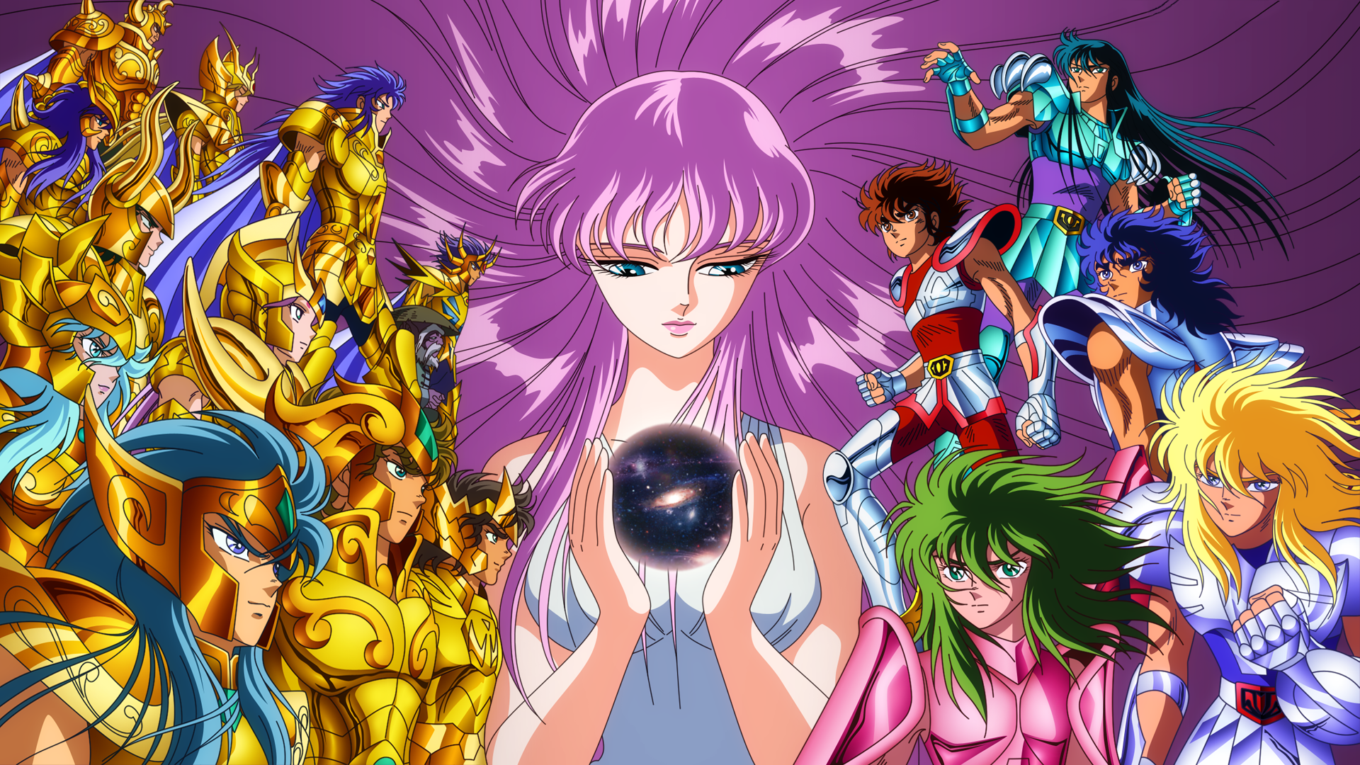 120 Saint Seiya HD Wallpapers