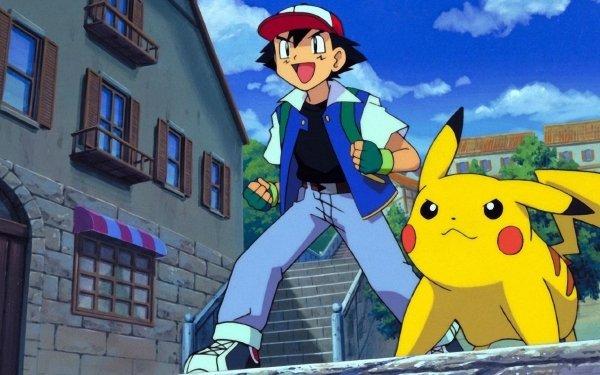 Anime Pokemon 4Ever: Celebi - Voice of the Forest Pokémon Pikachu Ash Ketchum Garçon Fond d'écran HD | Arrière-Plan