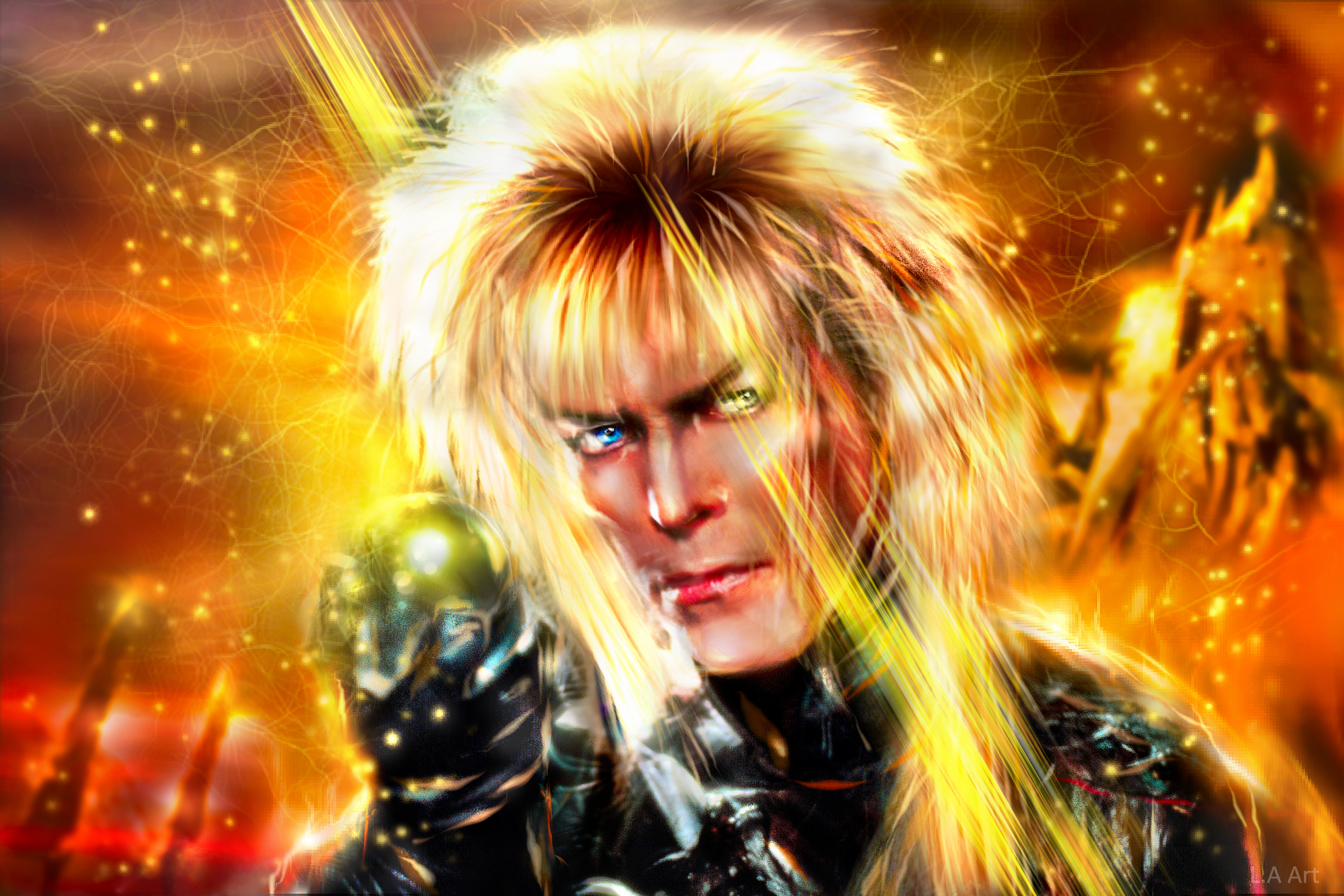david bowie goblin king computer wallpapers desktop