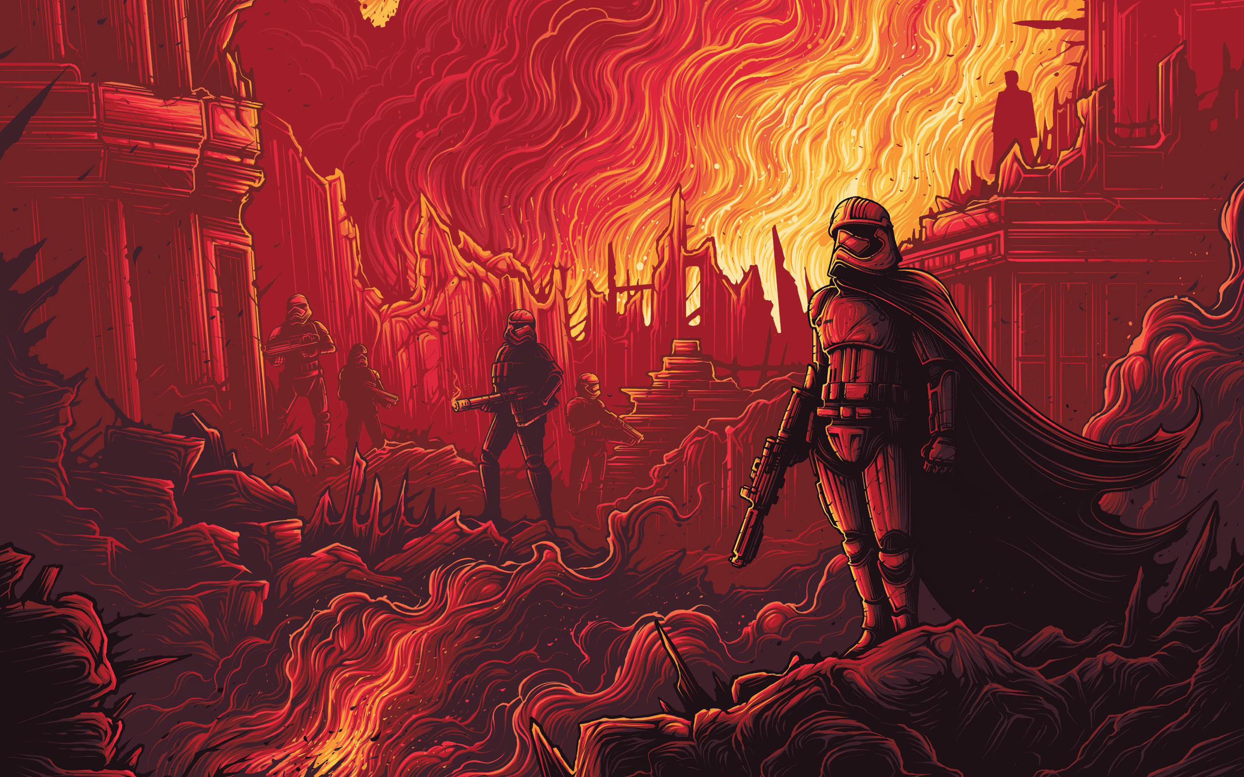 Star Wars Episode Vii The Force Awakens Hd Wallpaper Background Image 2560x1600 Id 676619 Wallpaper Abyss