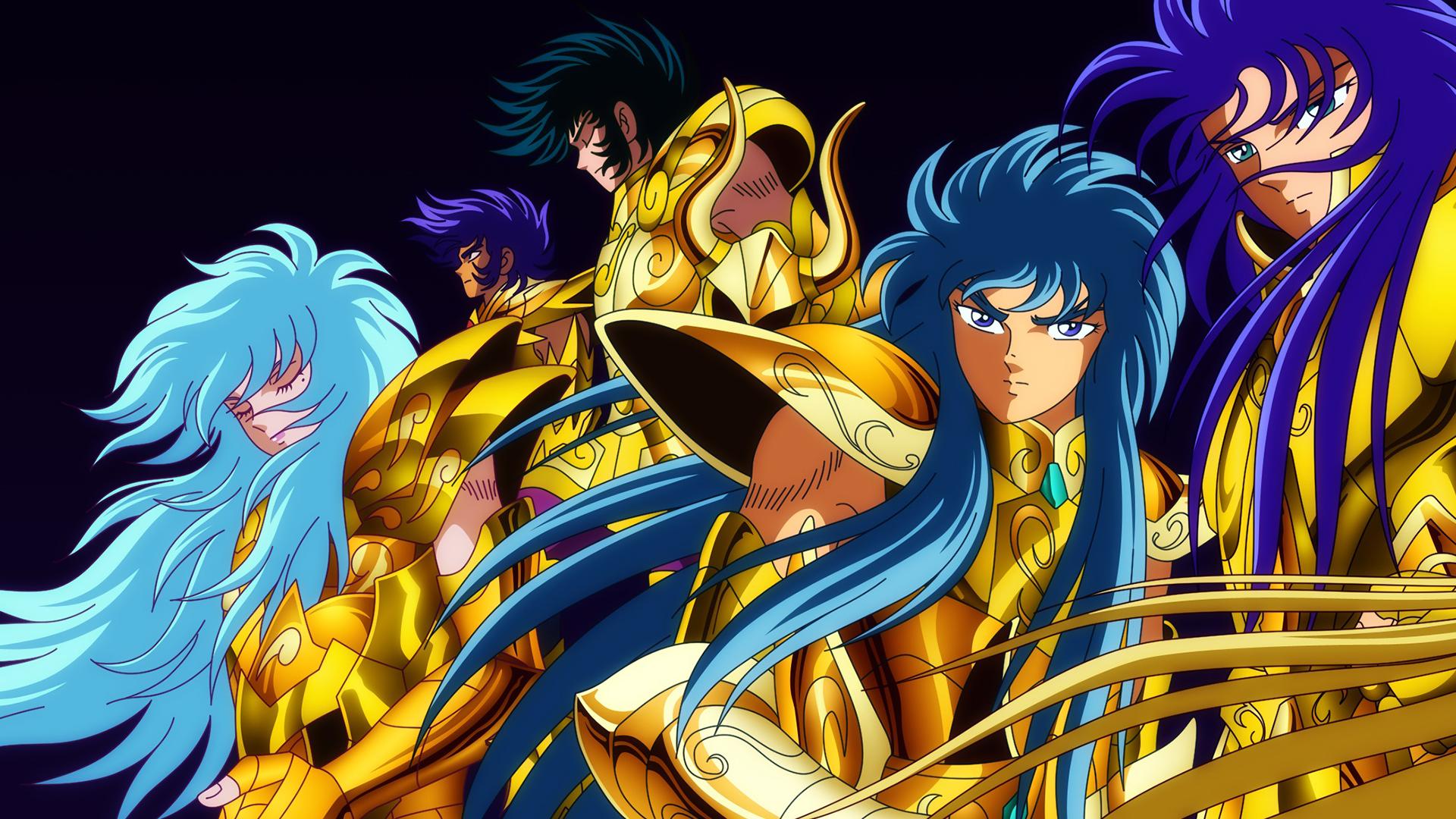 12 golden saints part 1 hd wallpaper background image - Saint seiya wallpaper desktop ...
