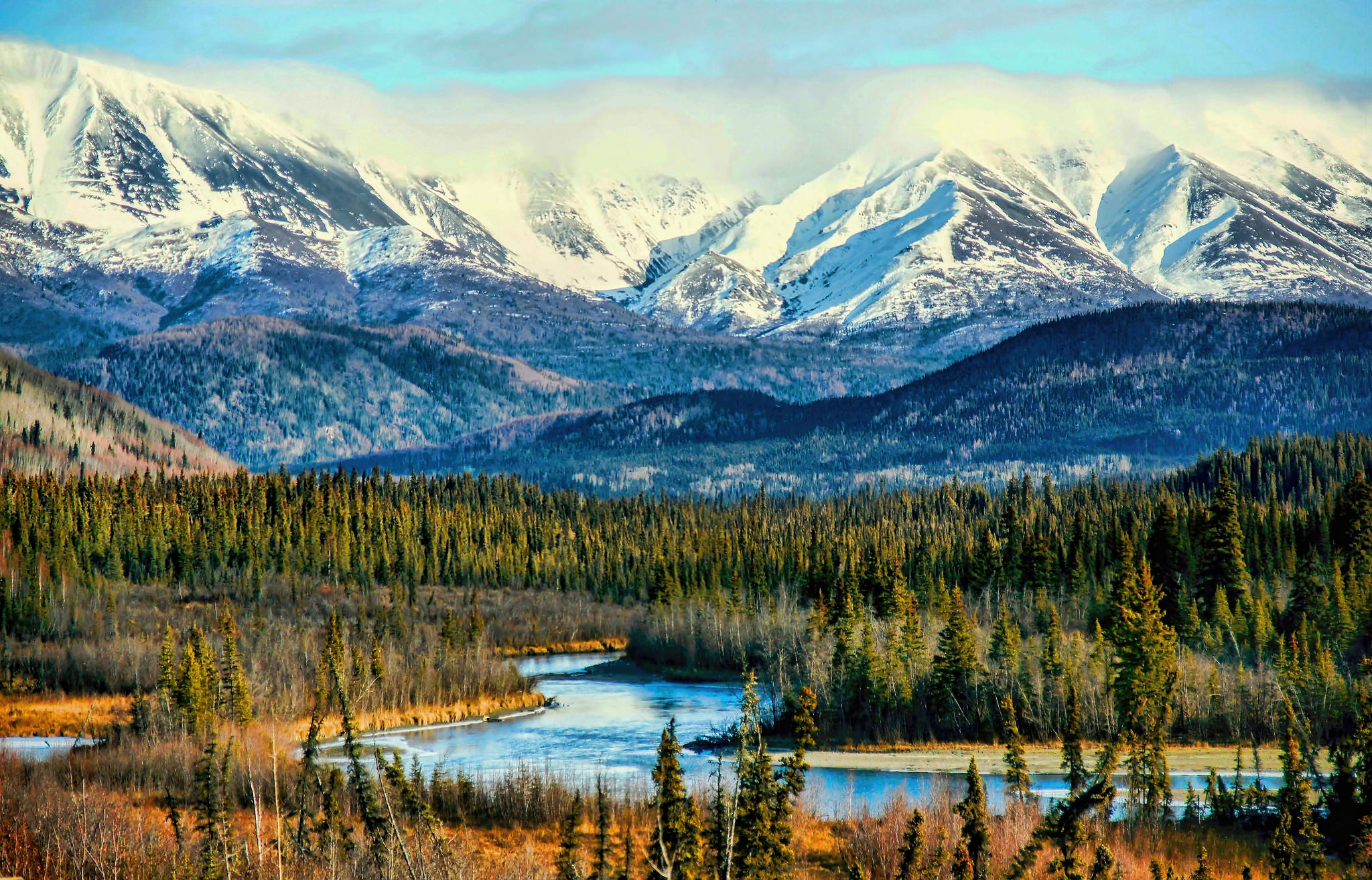 Wild And Free Alaska Hd Wallpaper Hintergrund