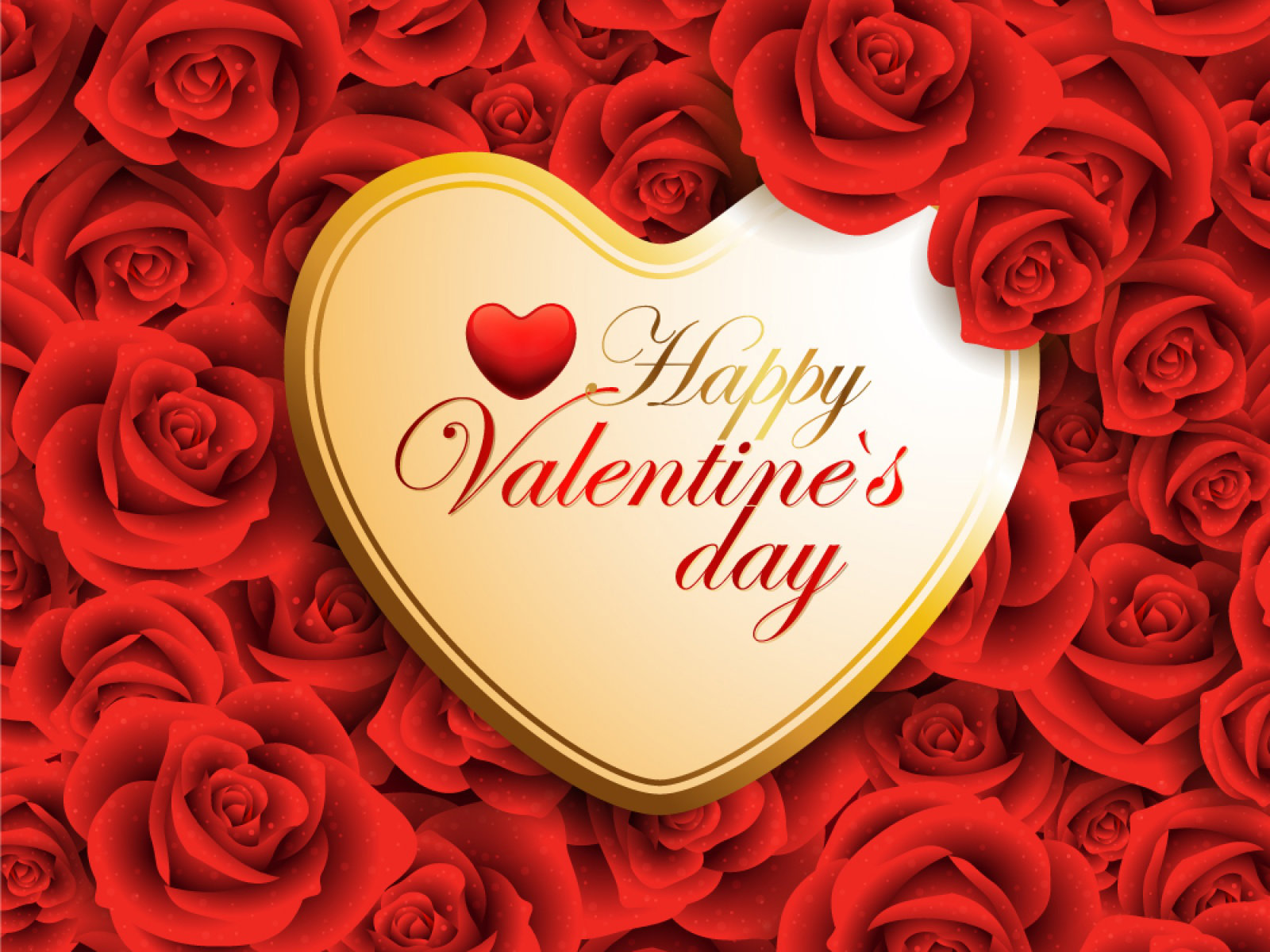 Happy Valentines Day Wallpaper And Background Image
