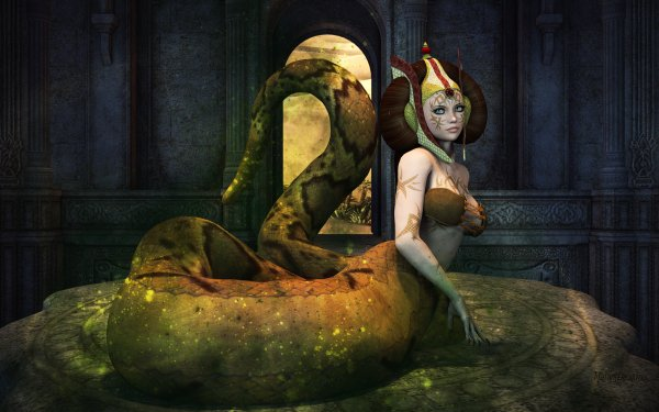 Video Game League Of Legends Cassiopeia Snake HD Wallpaper | Background Image