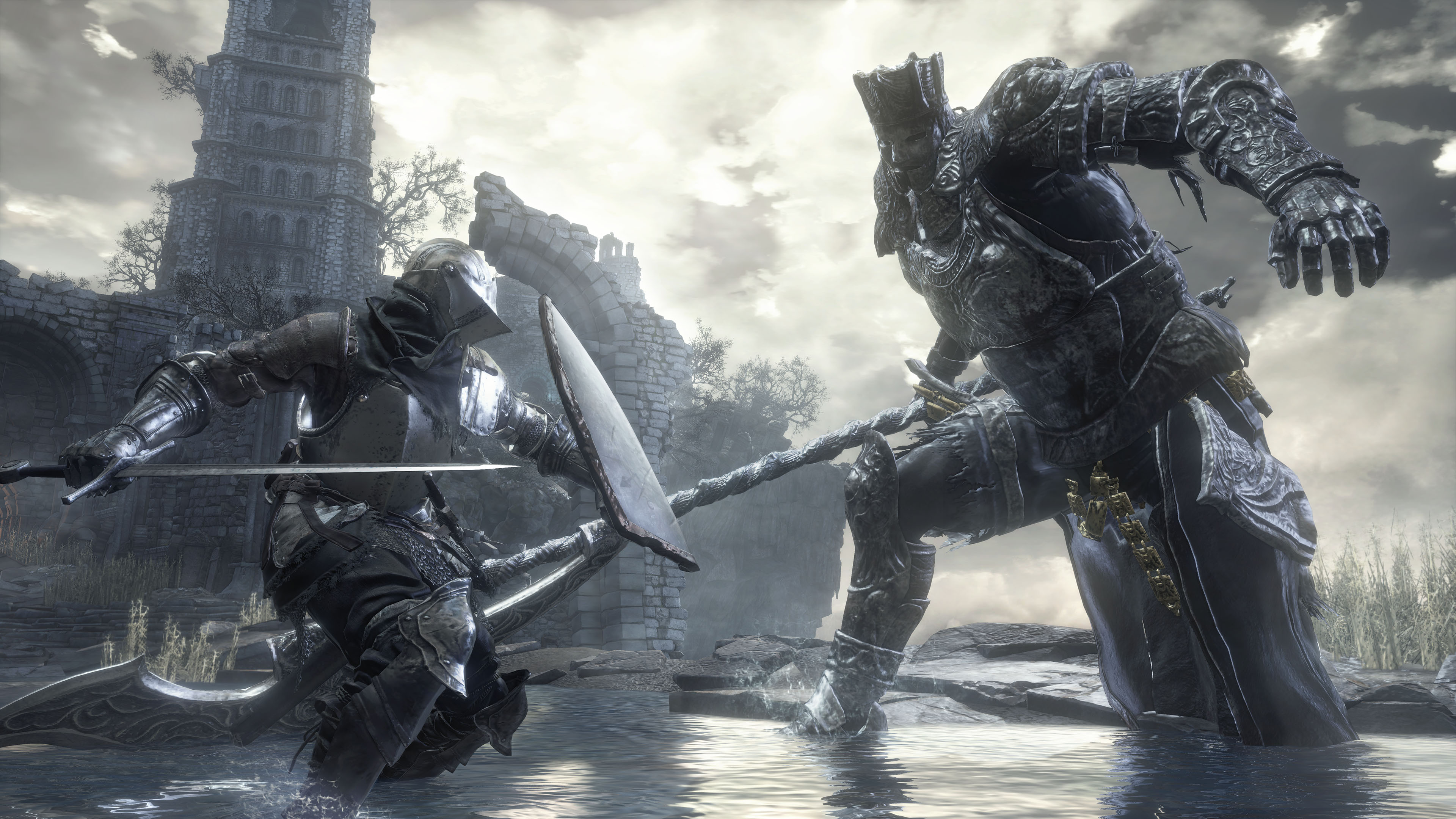 Dark Souls III 4k Ultra HD Fond D&233cran And Arri&232re Plan