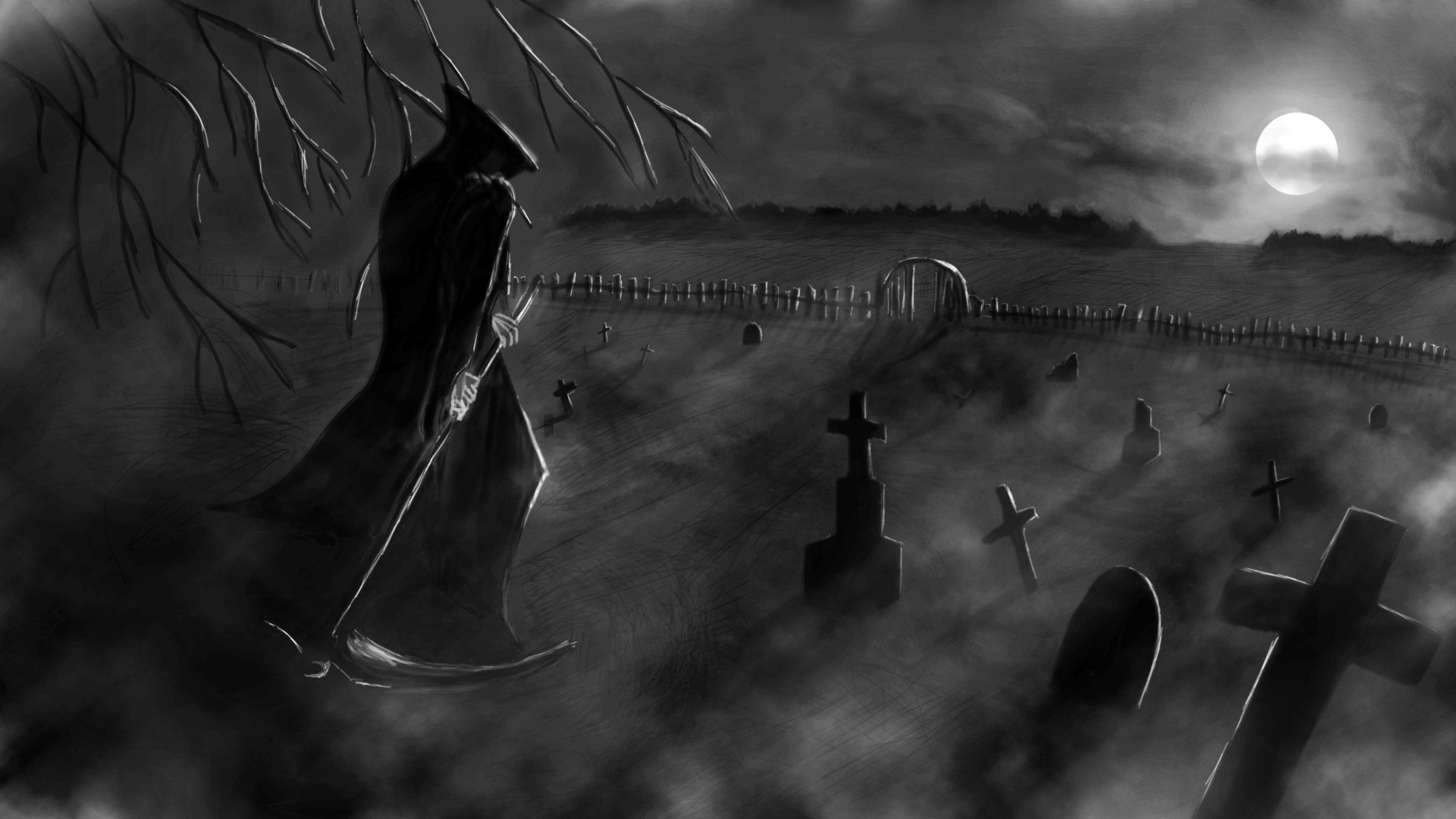 Grim Reaper Full Hd Wallpaper And Background 1920x1080