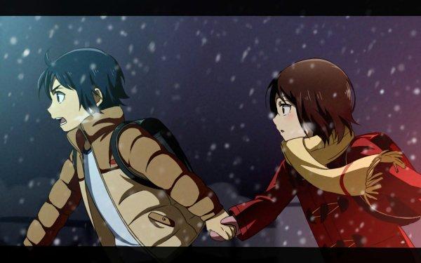 Anime ERASED Boku Dake Ga Inai Machi Kayo Hinazuki Satoru Fujinuma Fondo de pantalla HD | Fondo de Escritorio