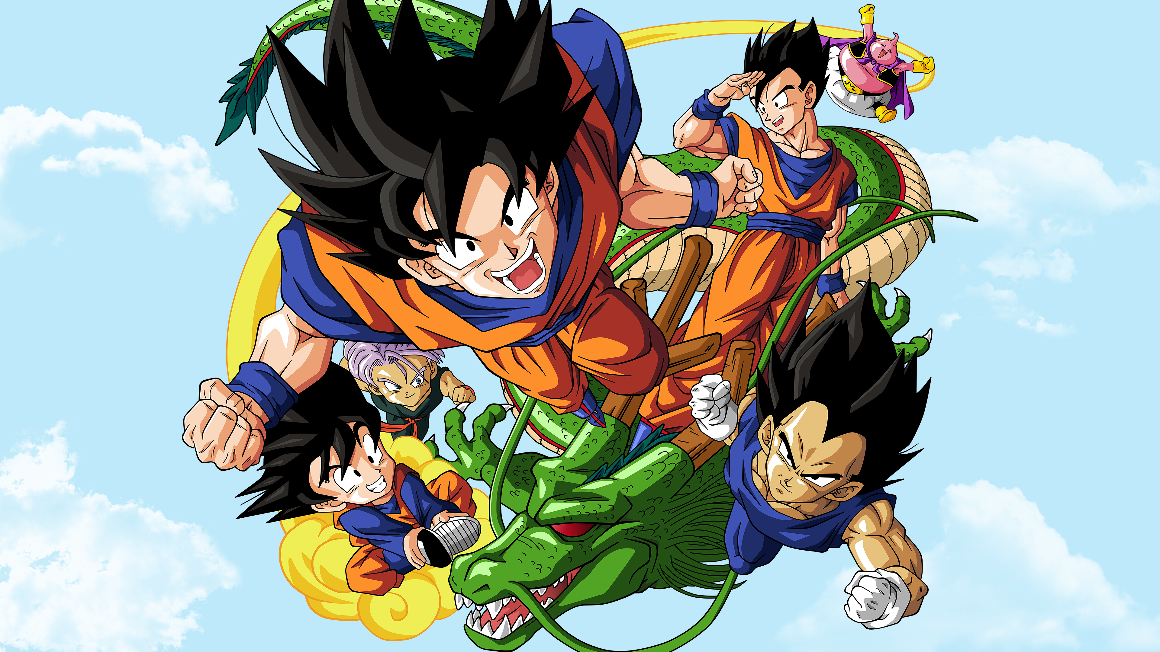 Dragon Ball Z 4k Ultra Papel De Parede HD
