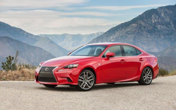 Véhicules Lexus IS Lexus Luxury Car Red Car Voiture Fond d'écran HD | Arrière-Plan
