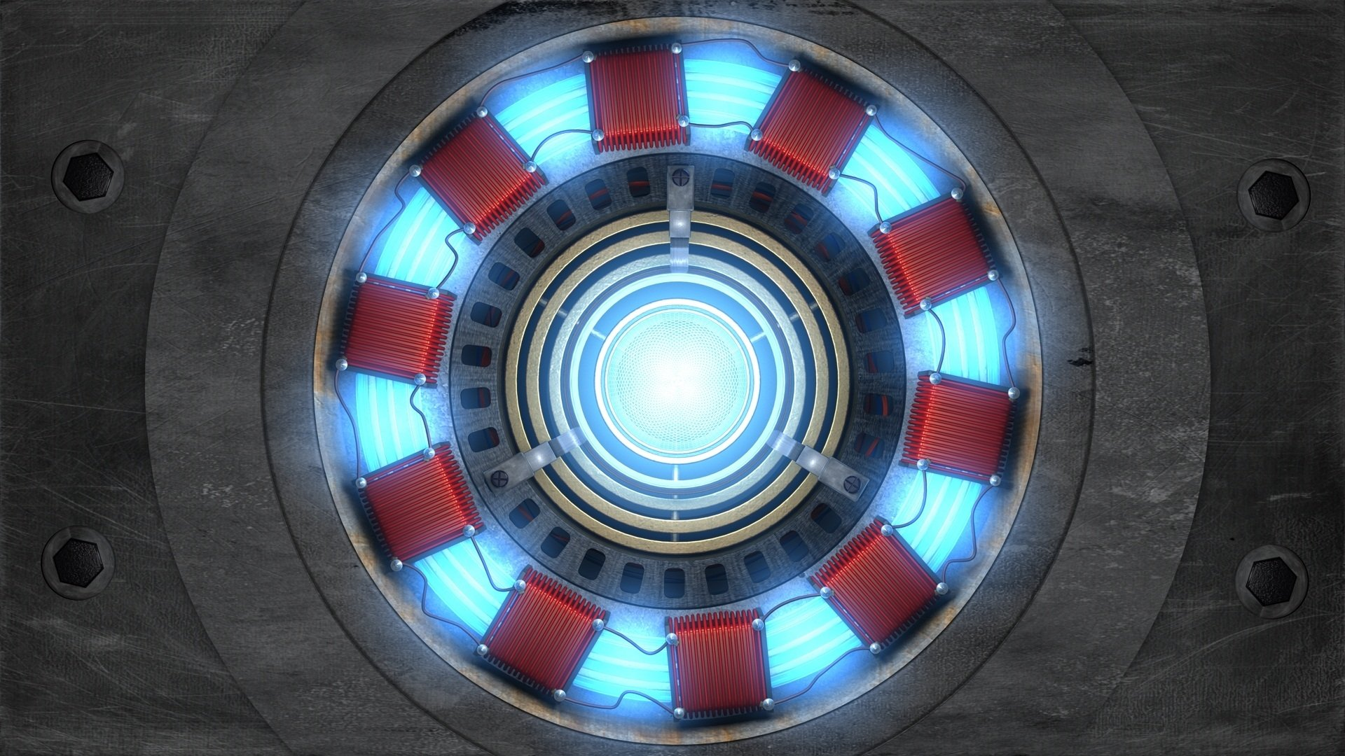 Iron man 39 s arc reactor powered electromagnet chest piece - Iron man heart wallpaper ...