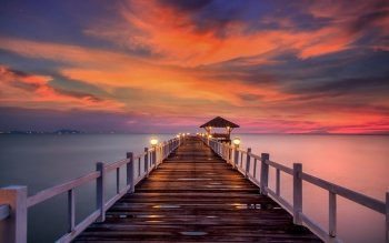 669 Pier Hd Wallpapers Background Images Wallpaper Abyss