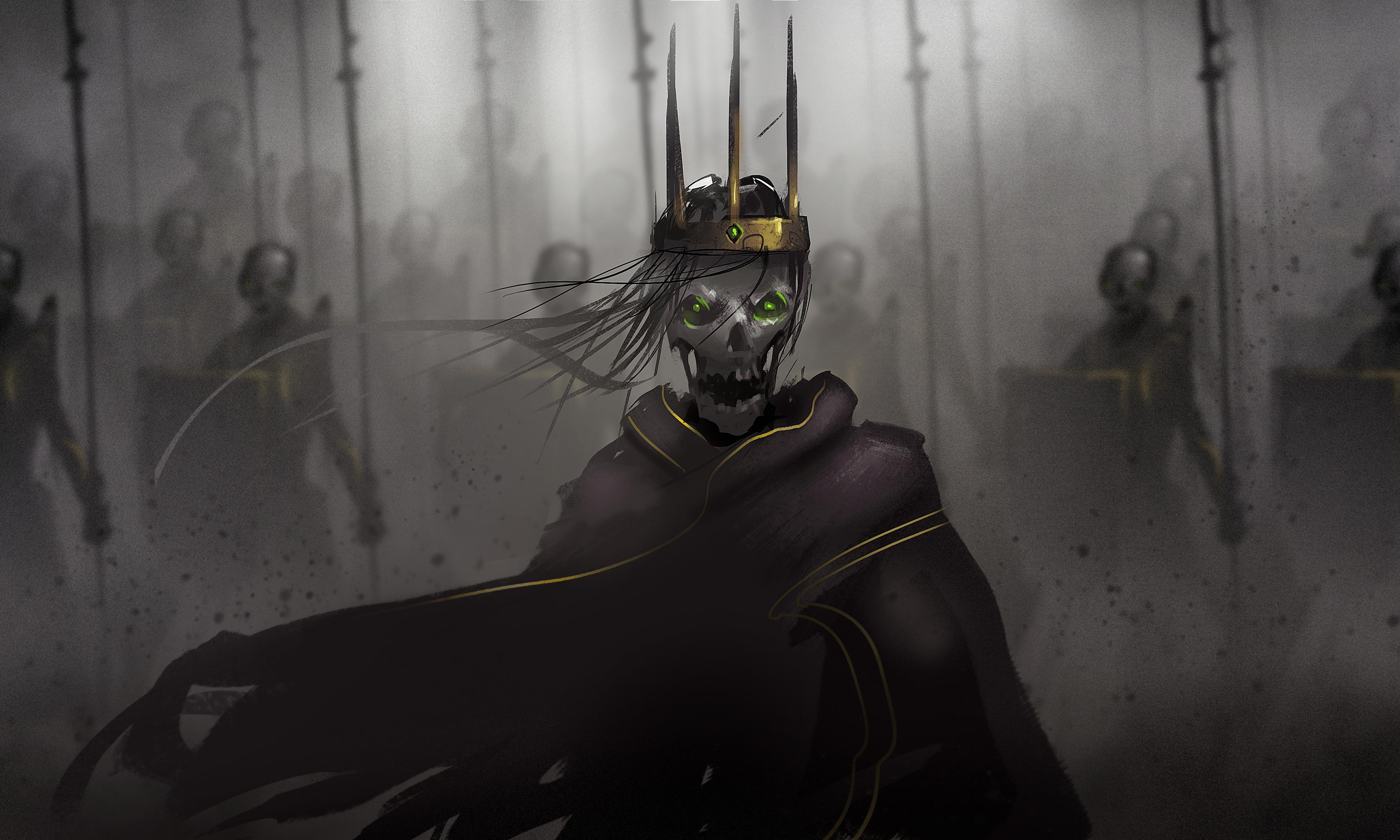 Skeleton lord hd wallpaper background image 3543x2126 id 681022 wallpaper abyss - Hd wallpapers of darkness ...